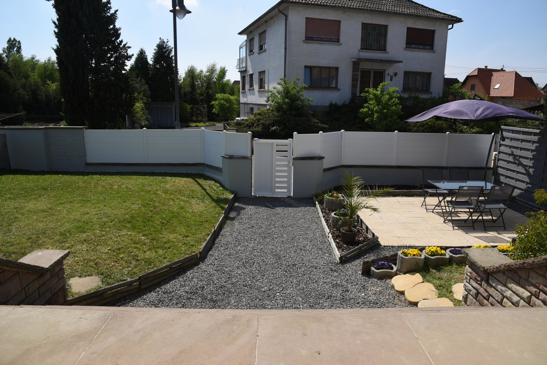 Brumath : Appartement avec jardin privatif !!