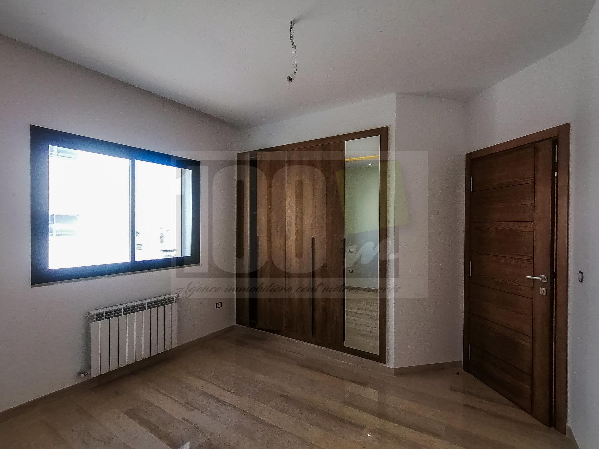 Vente appartement S+1 avec jardin à Kheireddine La Goulette
