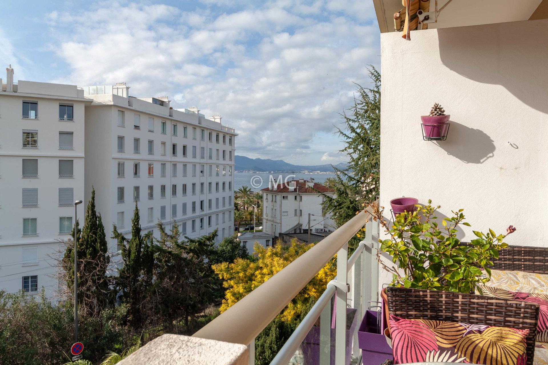 Cannes Alexandre III, Studio 32m² vue mer