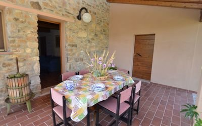 ITALY, TUSCANY, BUTI, FARMHOUSE WITH POOL, 6 PERSONS,