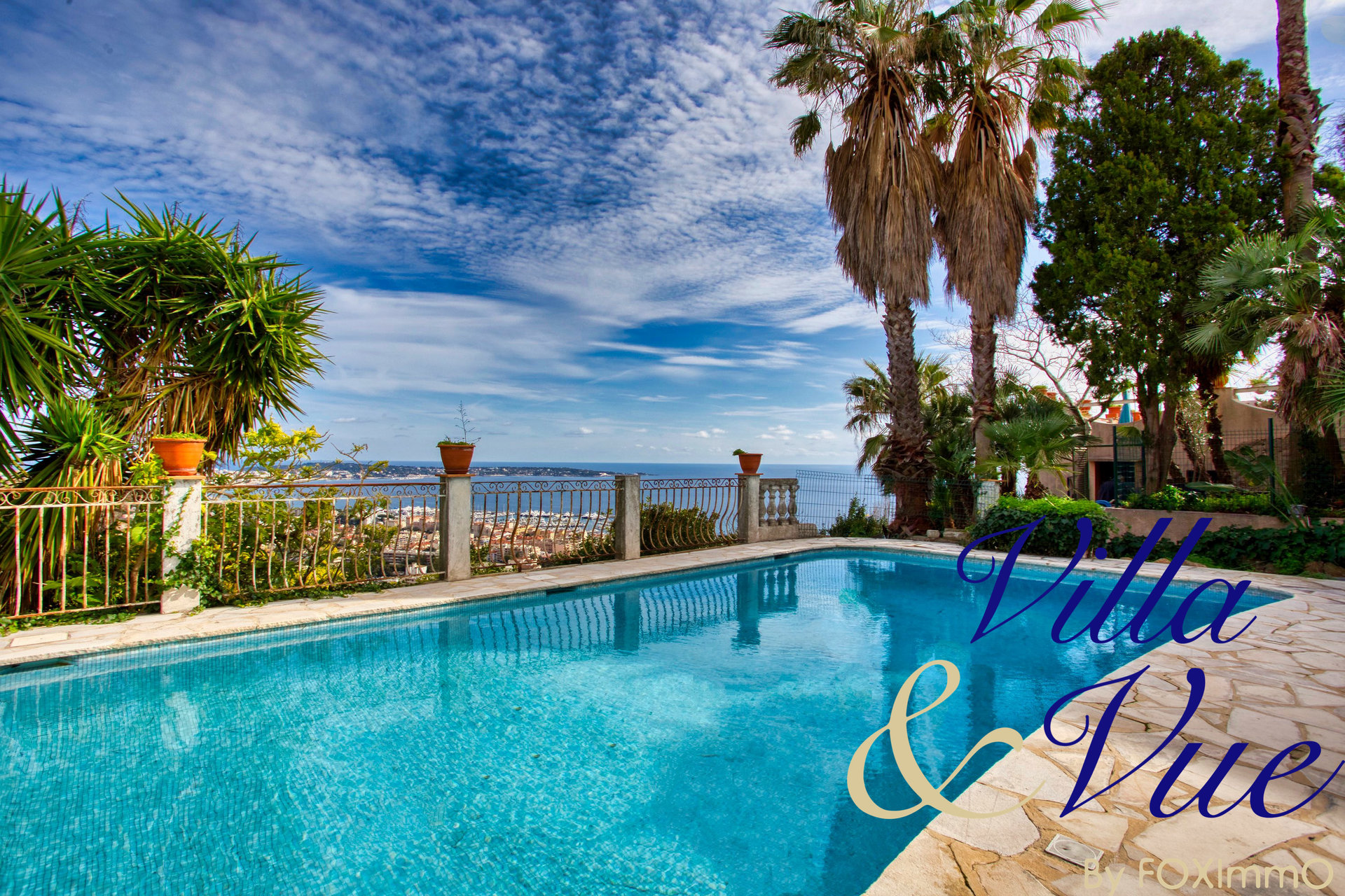 French Riviera Super Cannes Property Panoramic sea view
