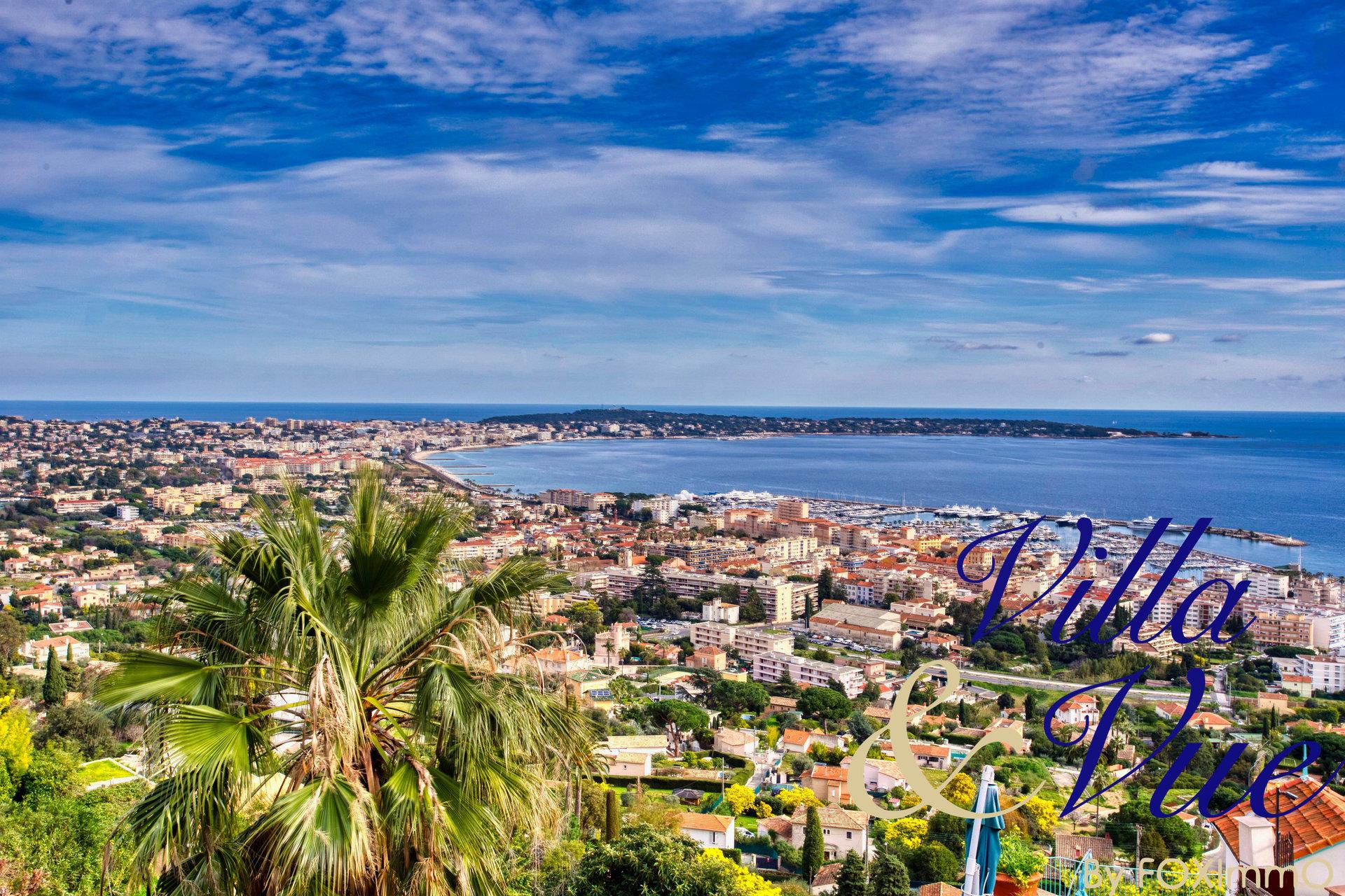 法國里維埃拉超級戛納酒店全景海景
