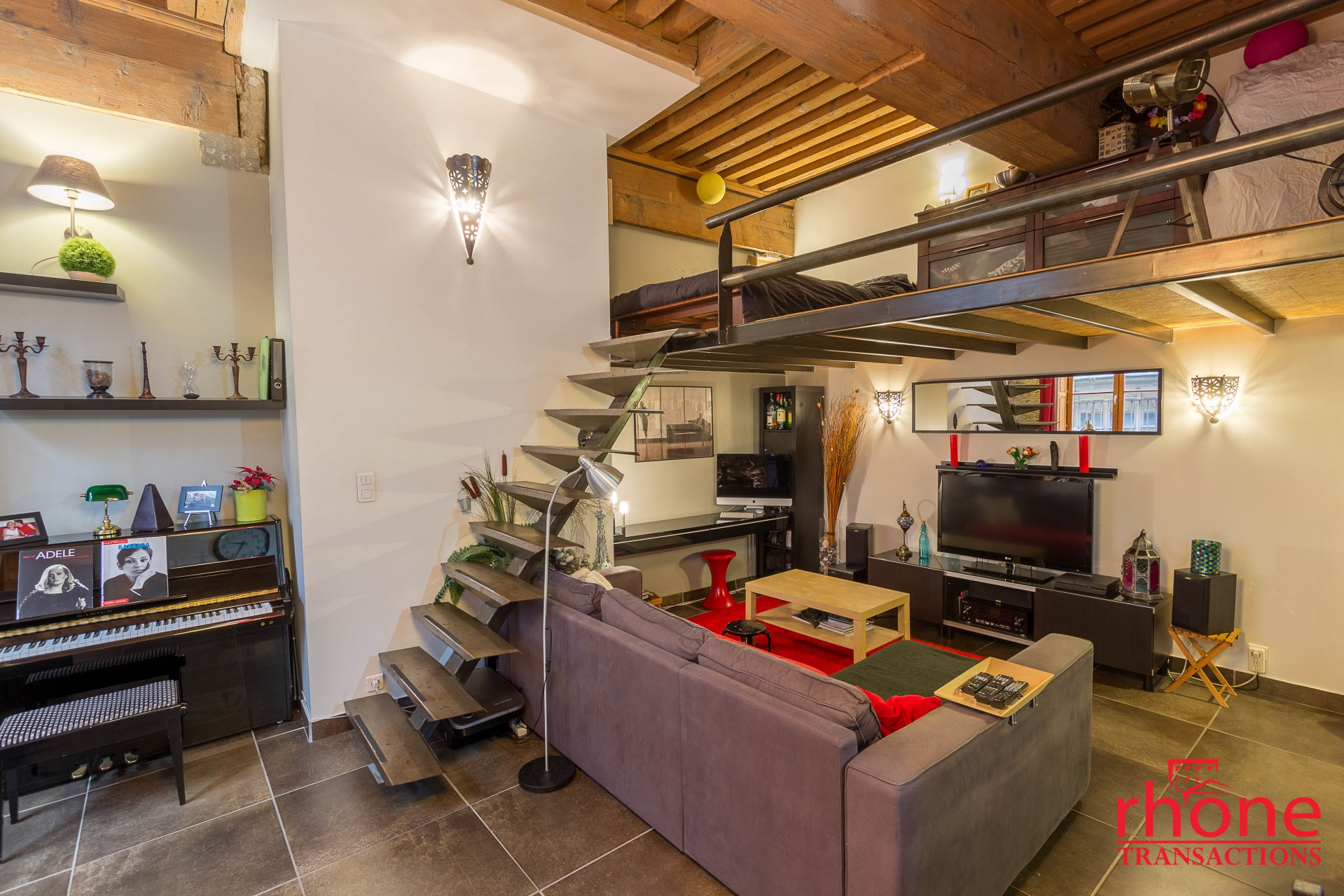 Vente Appartement - Lyon 1er Saint-Vincent