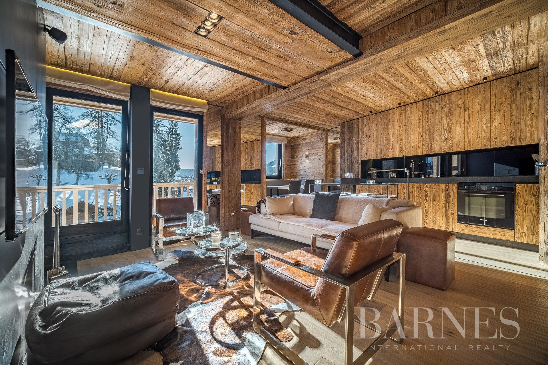 High-end apartment ideally situated in the heart of Megève's village Chalet in Megeve