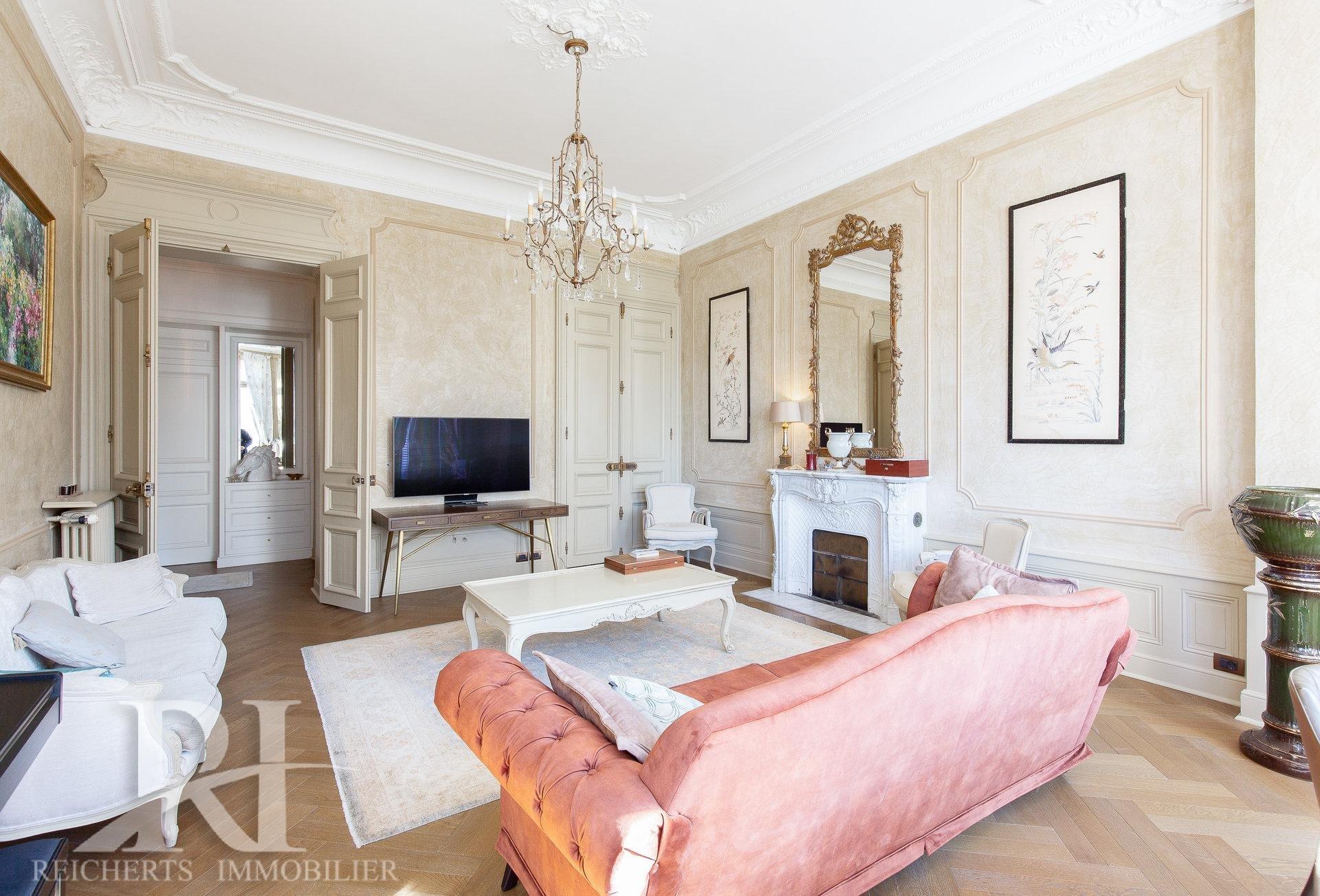 Splendide Bourgeois 4/5 P Rénové 200 m2 Vue verdure A pieds de la Rue d'Antibes Cannes Montfleury