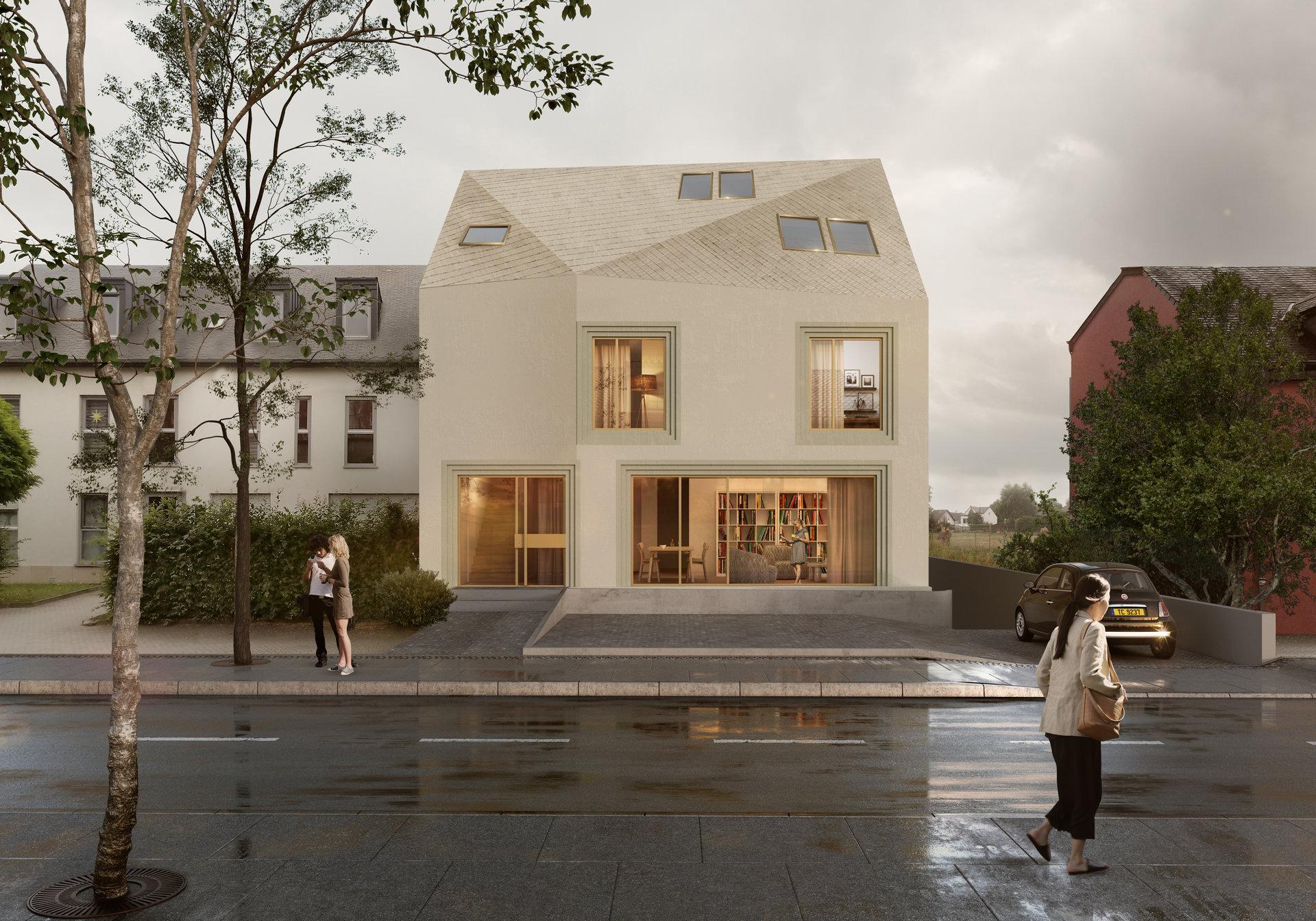 Duplex avec terrasse et jardin
