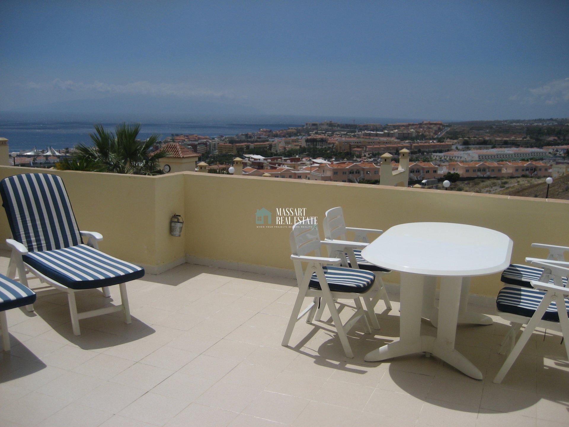 Wohnung zum Verkauf befindet sich im dritten Stock des touristischen Komplexes Balcón de Andalucía, in Torviscas Alto (Costa Adeje).