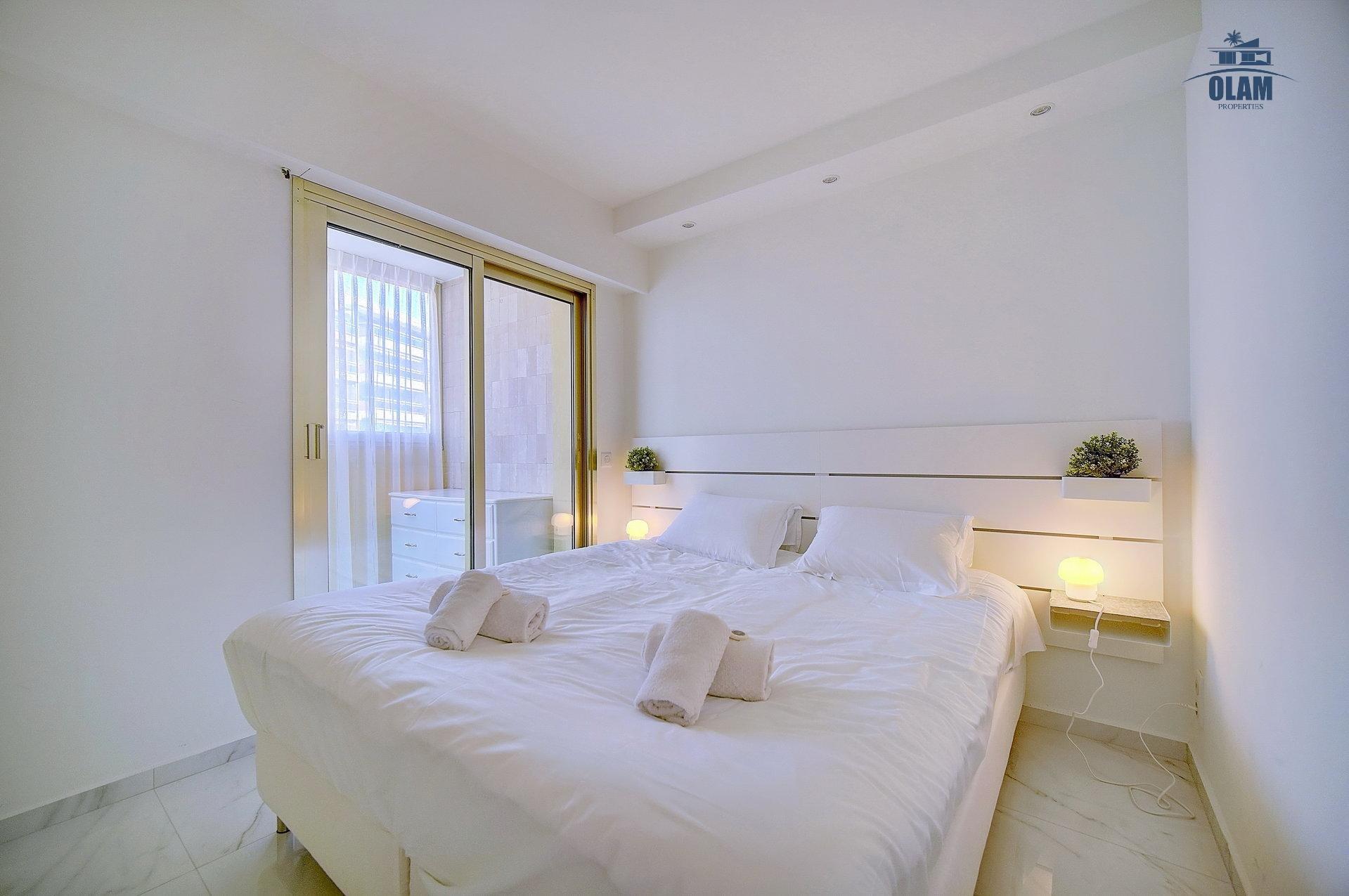 Bedroom, Cannes, Croisette, Seasonal rental, French Riviera