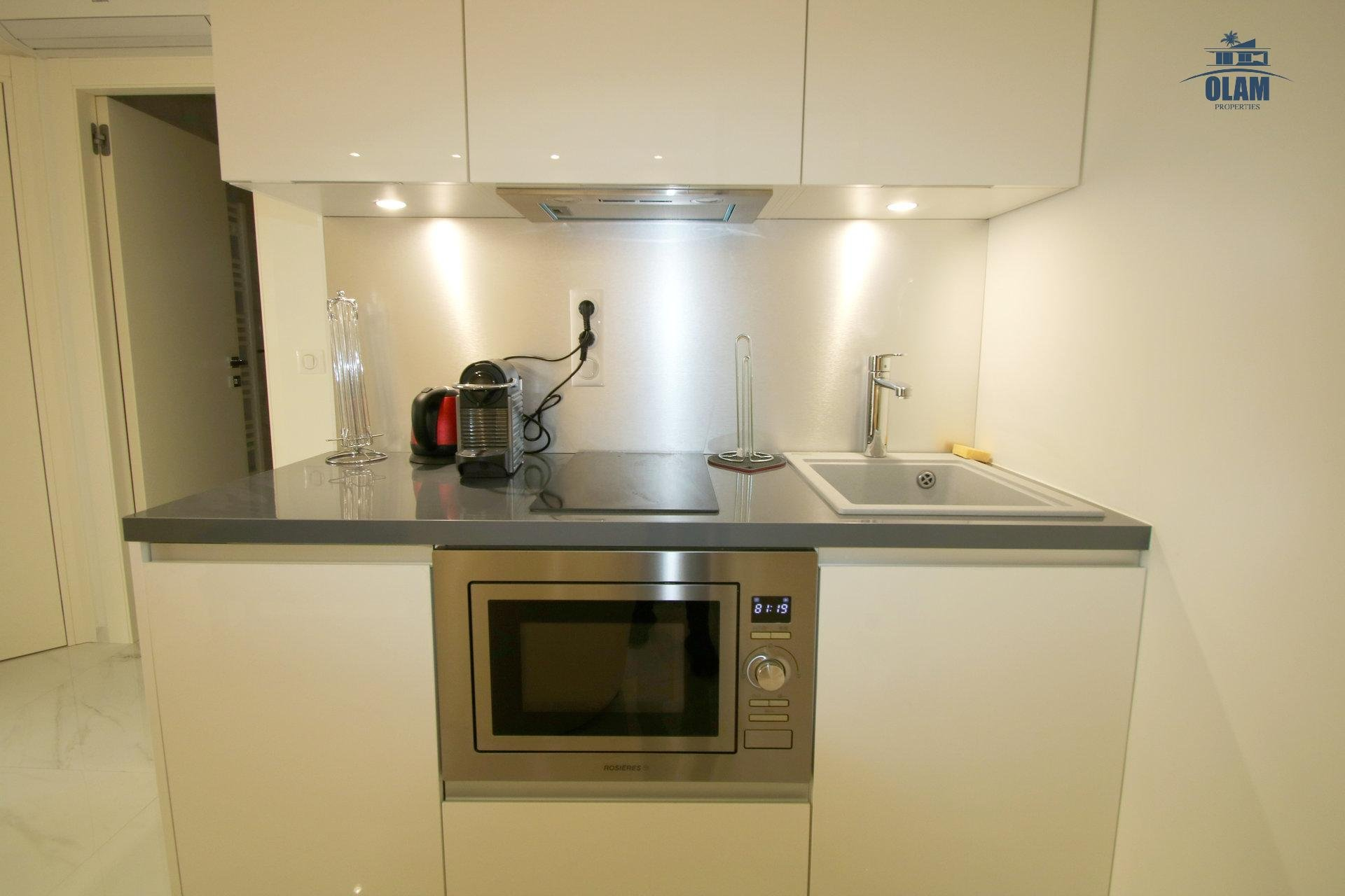 Equipped kitchen, Cannes, Croisette, French Riviera