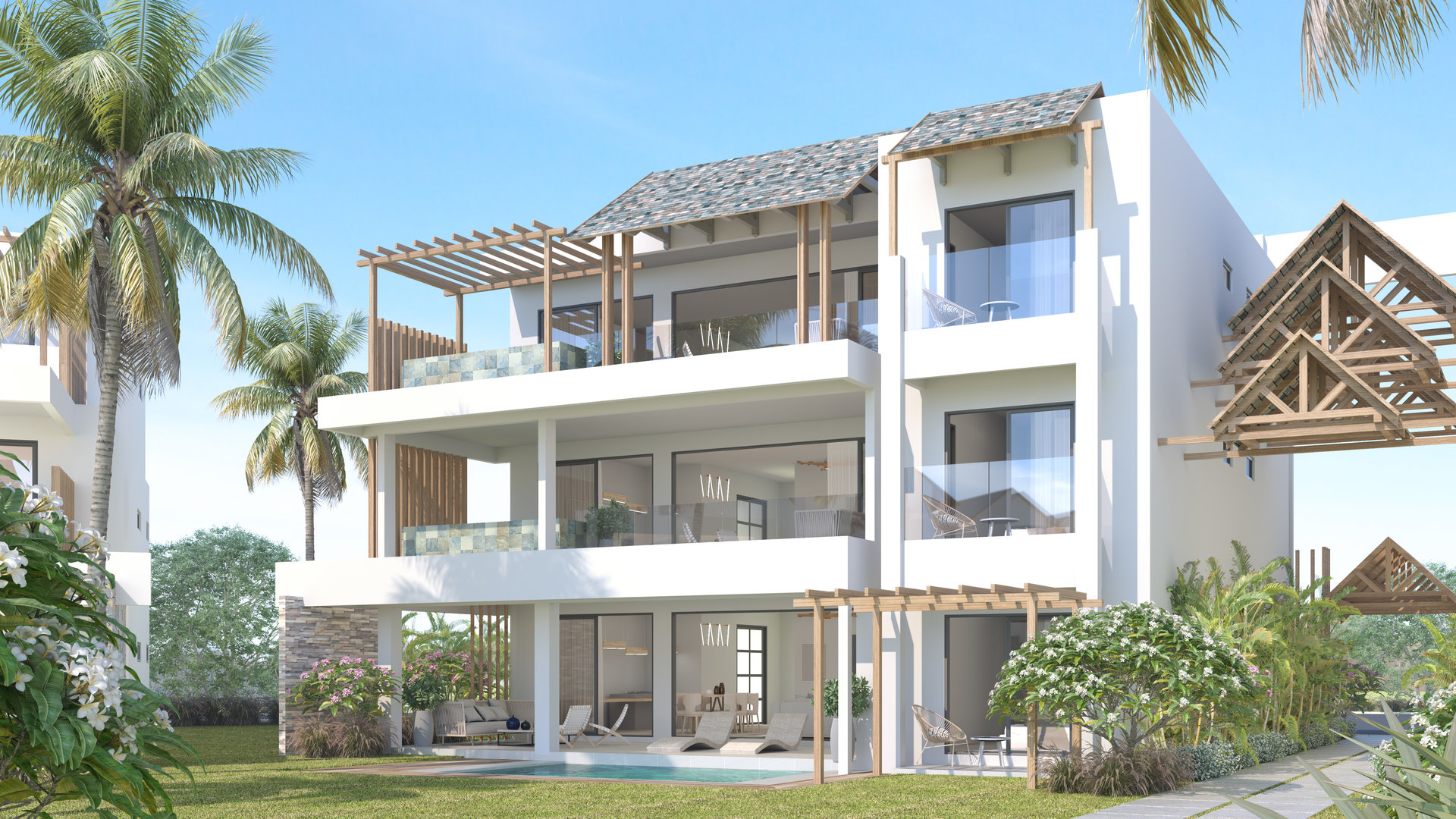 Luxury beachfront development in Balaclava
