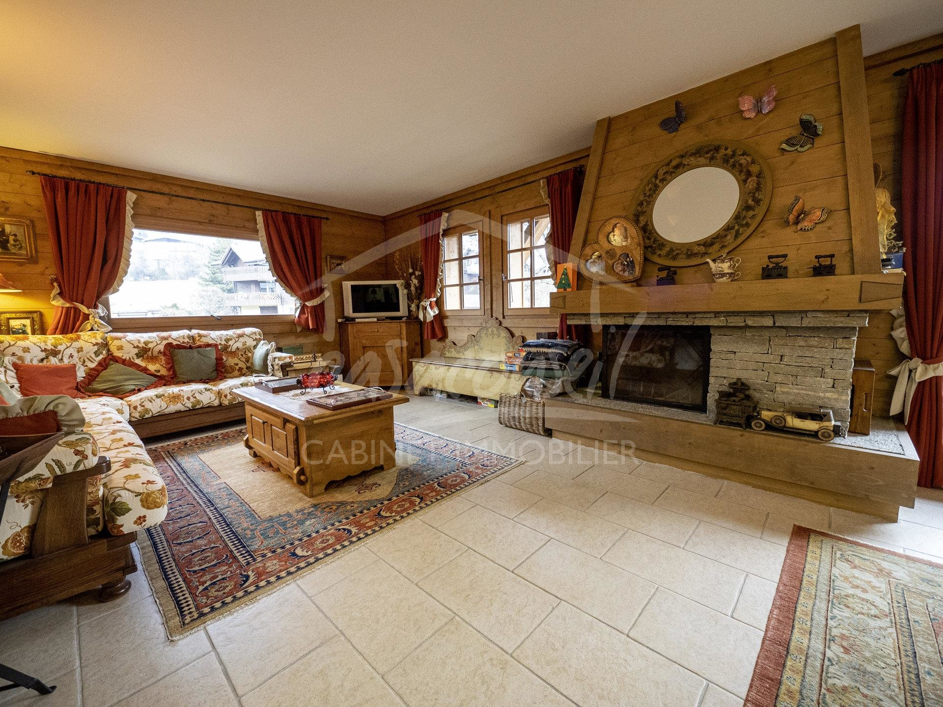 St Gervais- Pretty 3-room property with extra sleeping area
