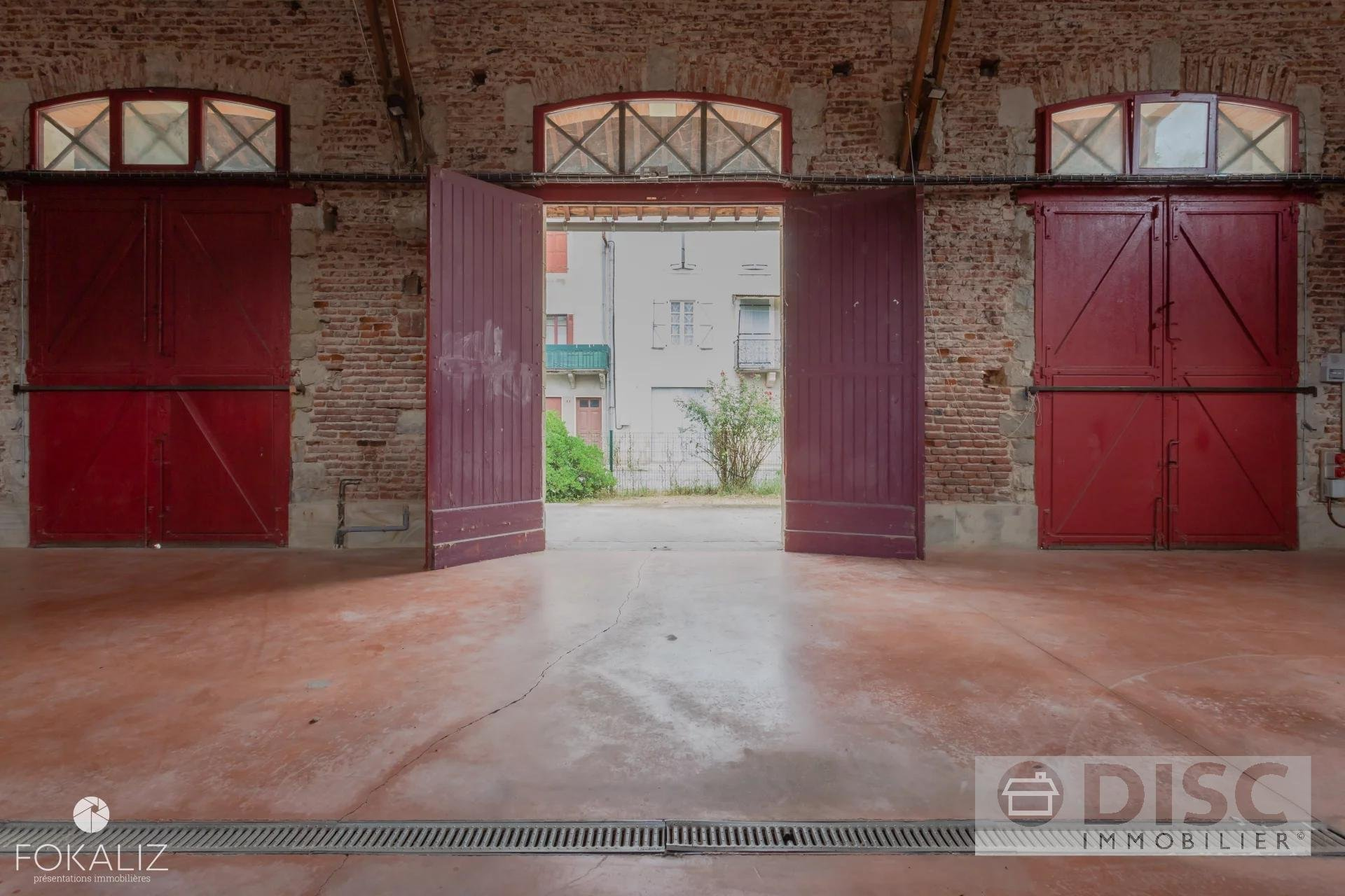 Old  train station transformed into a cultural place
