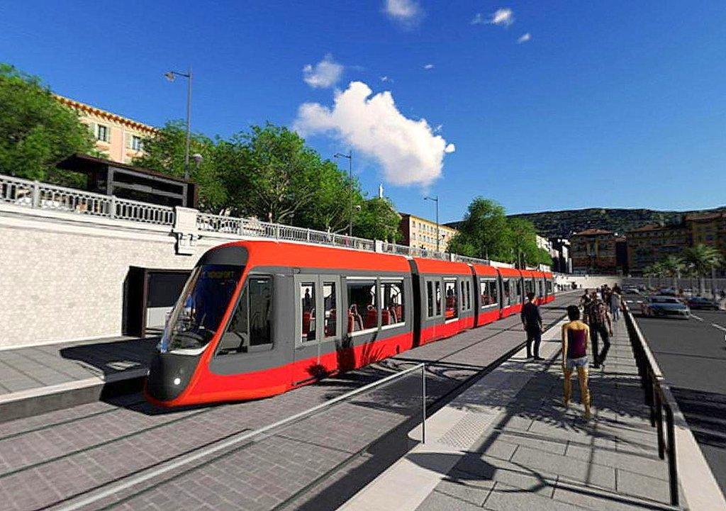 Nice Port 2 pièces neuf proche tram ligne 2