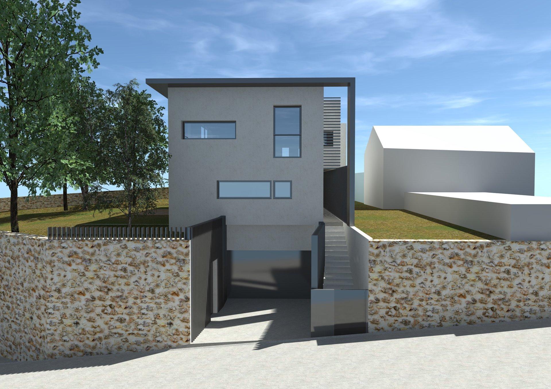 Maison contemporaine au coeur de Montanay