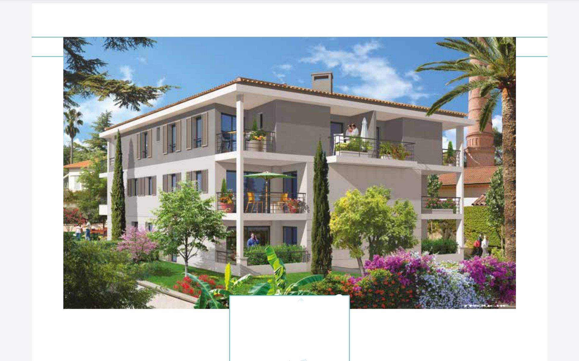 Golfe-Juan/ New Building LES TELLINES