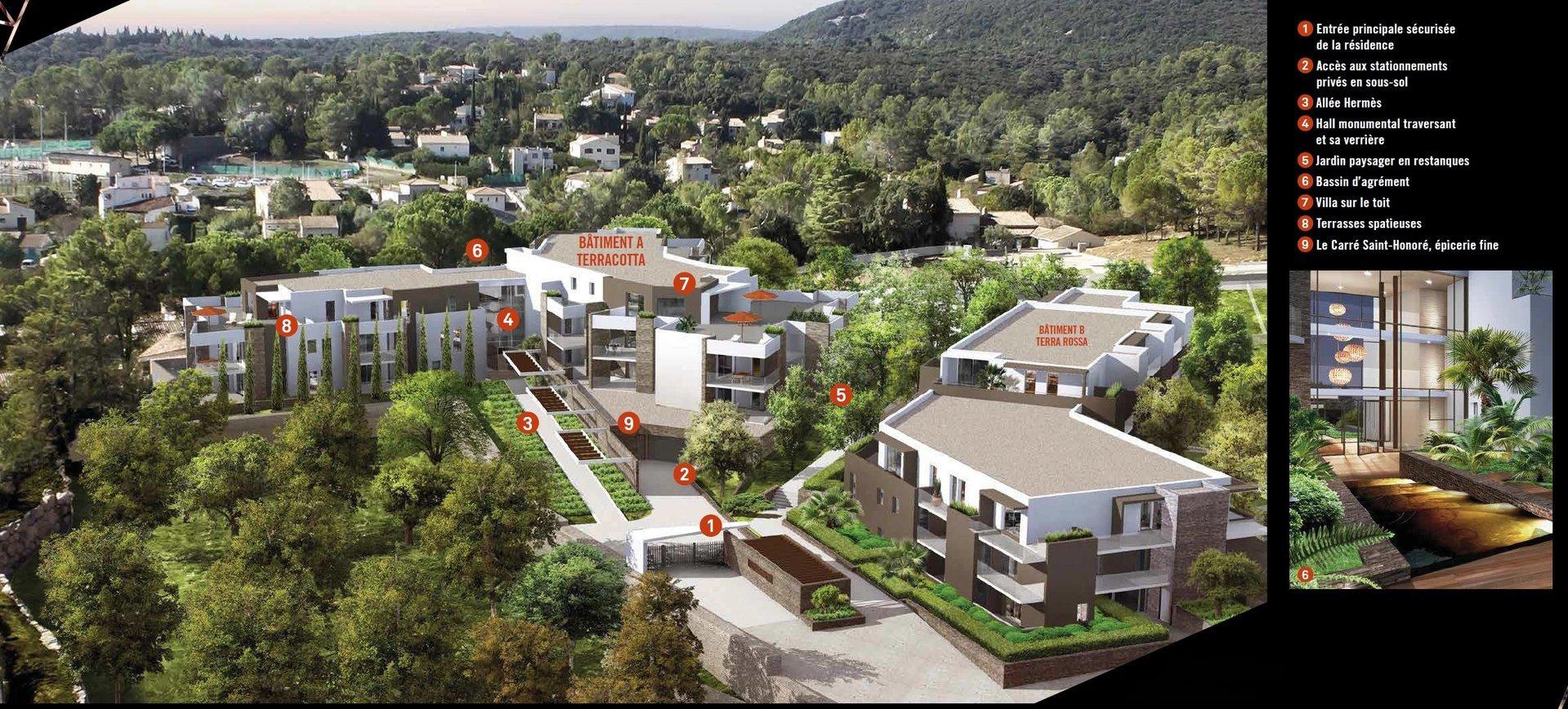 Saint GELY DU FESC Appartement 3 Pièces avec terrasse de 22 m2