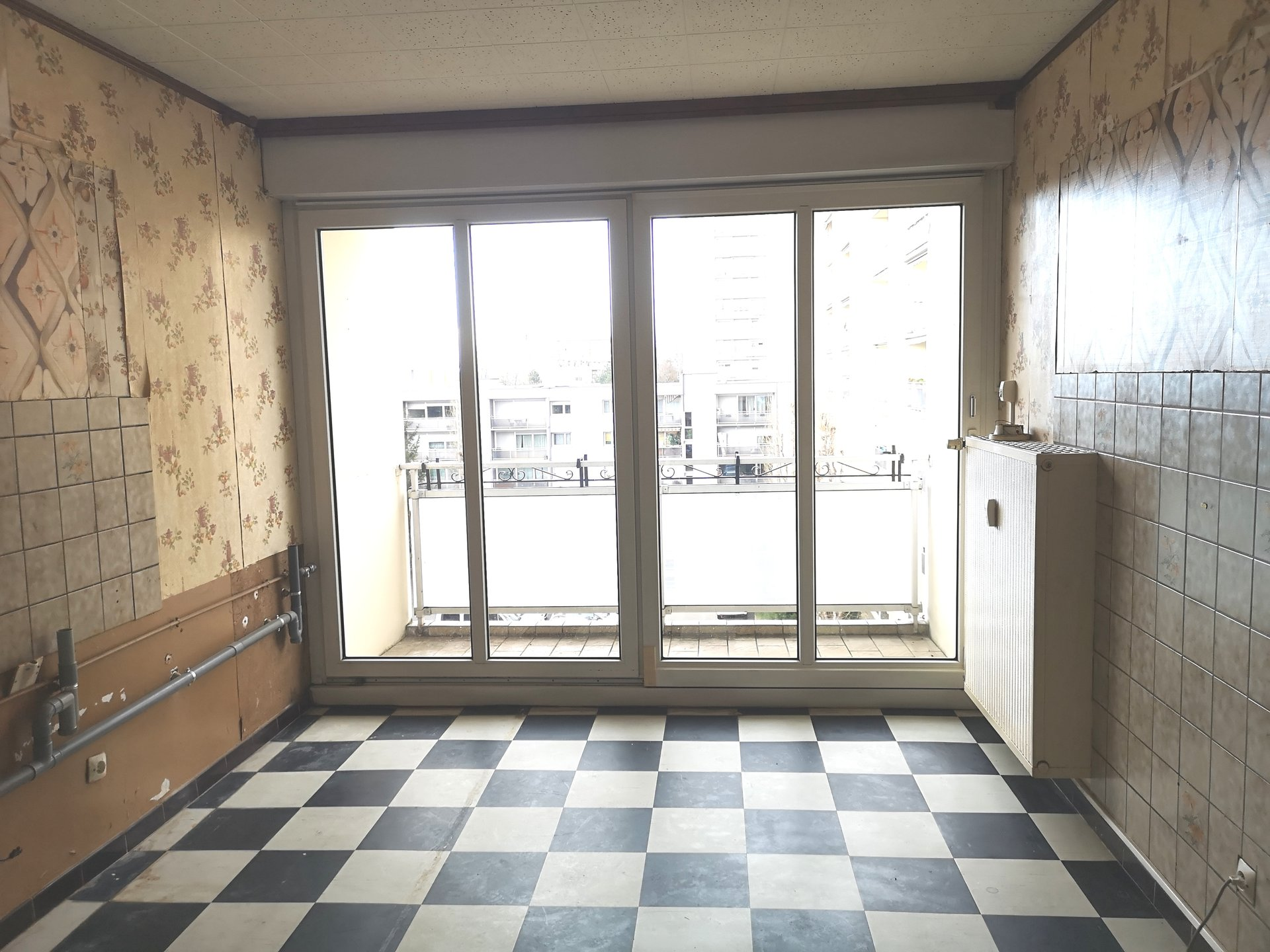 Appartement à fort potentiel