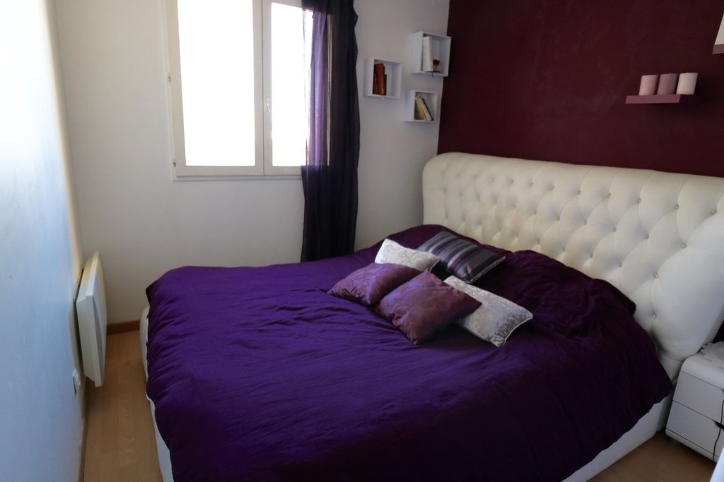 NICE OUEST, BEAU 3 PIECES, ETAGE ELEVE, VUE DEGAGEE