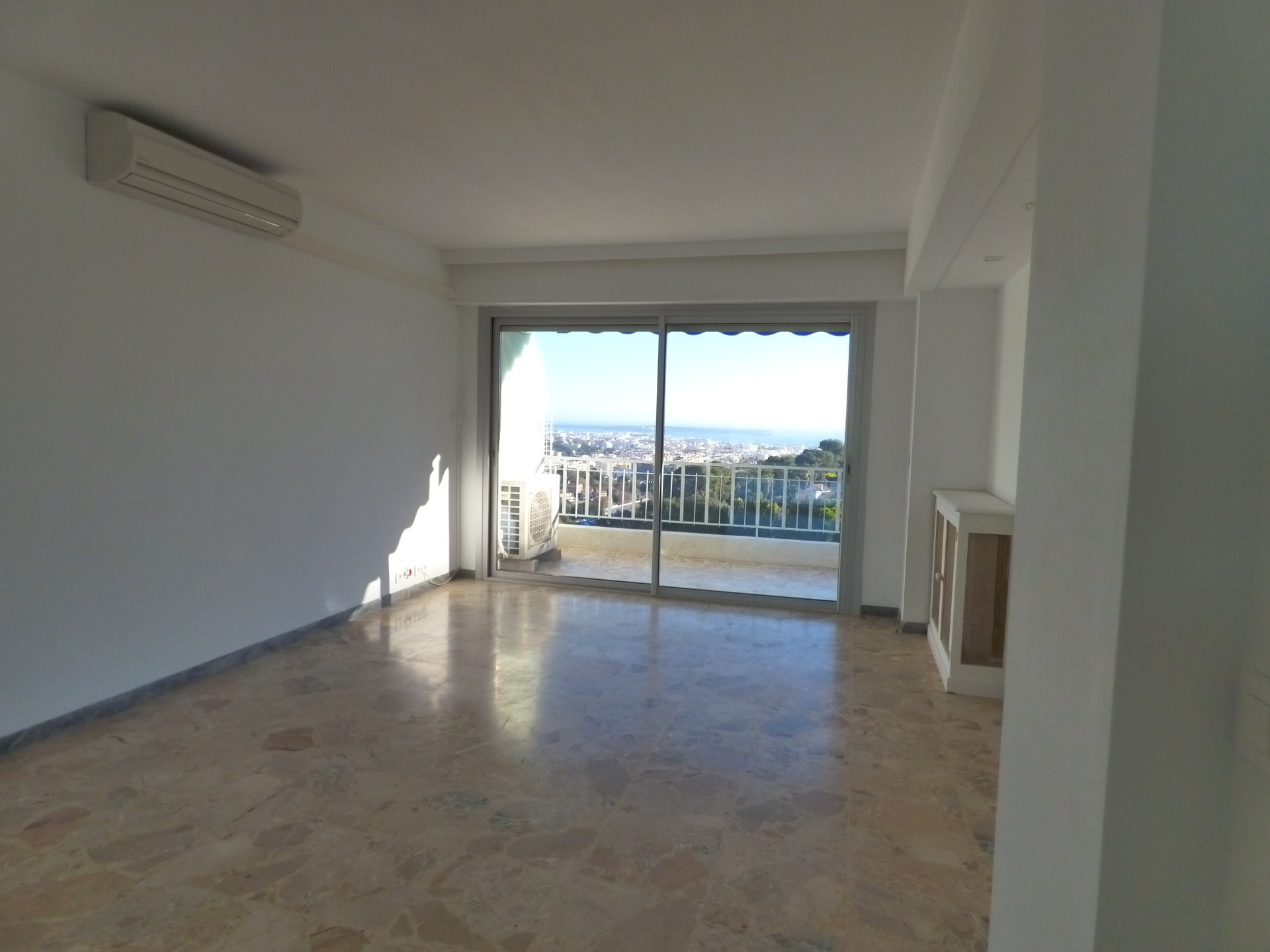 LE CANNET-Mont Joli -Appart 3 P top floor panoramic sea view