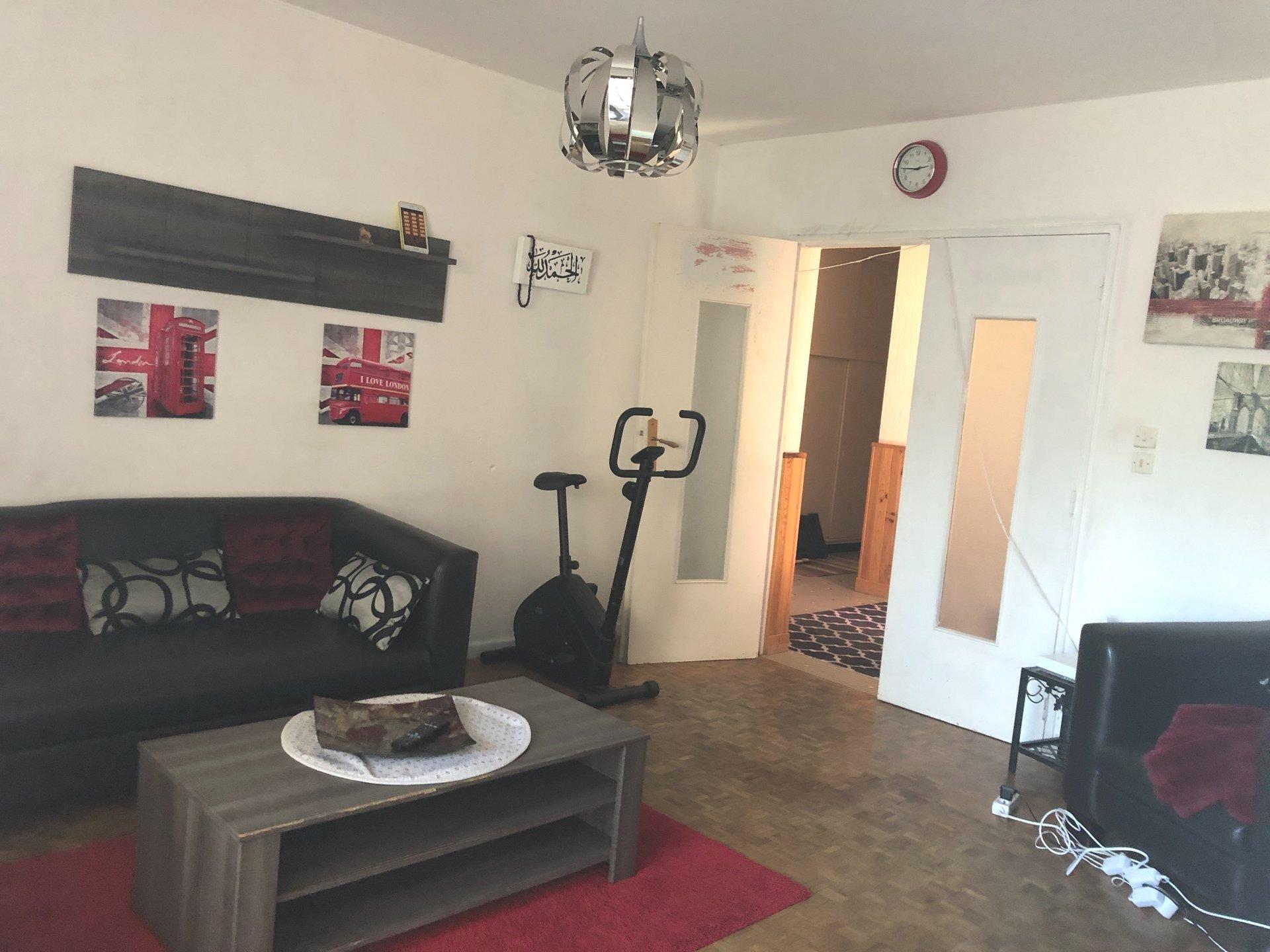 VIENNE, appartement T4 de 74 m² avec garage.