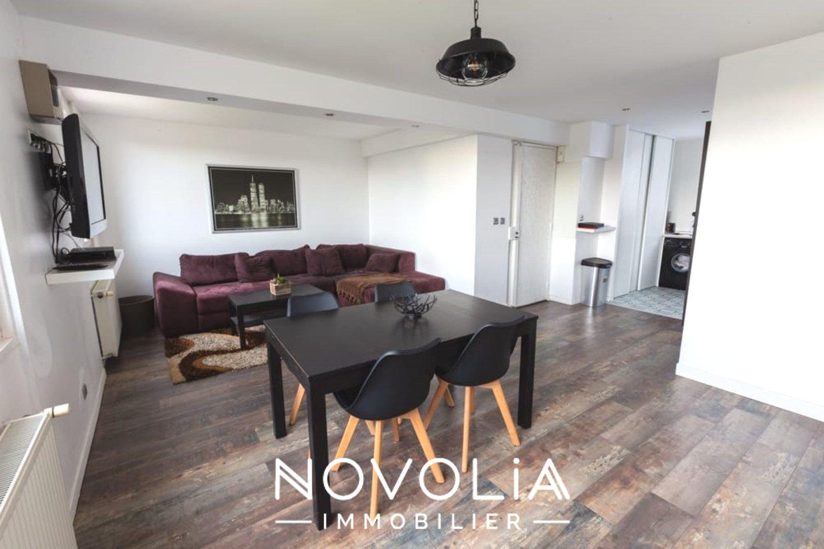 Achat Appartement, Surface de 64.07 m²/ Total carrez : 64.07 m², 3 pièces, Vénissieux (69200)