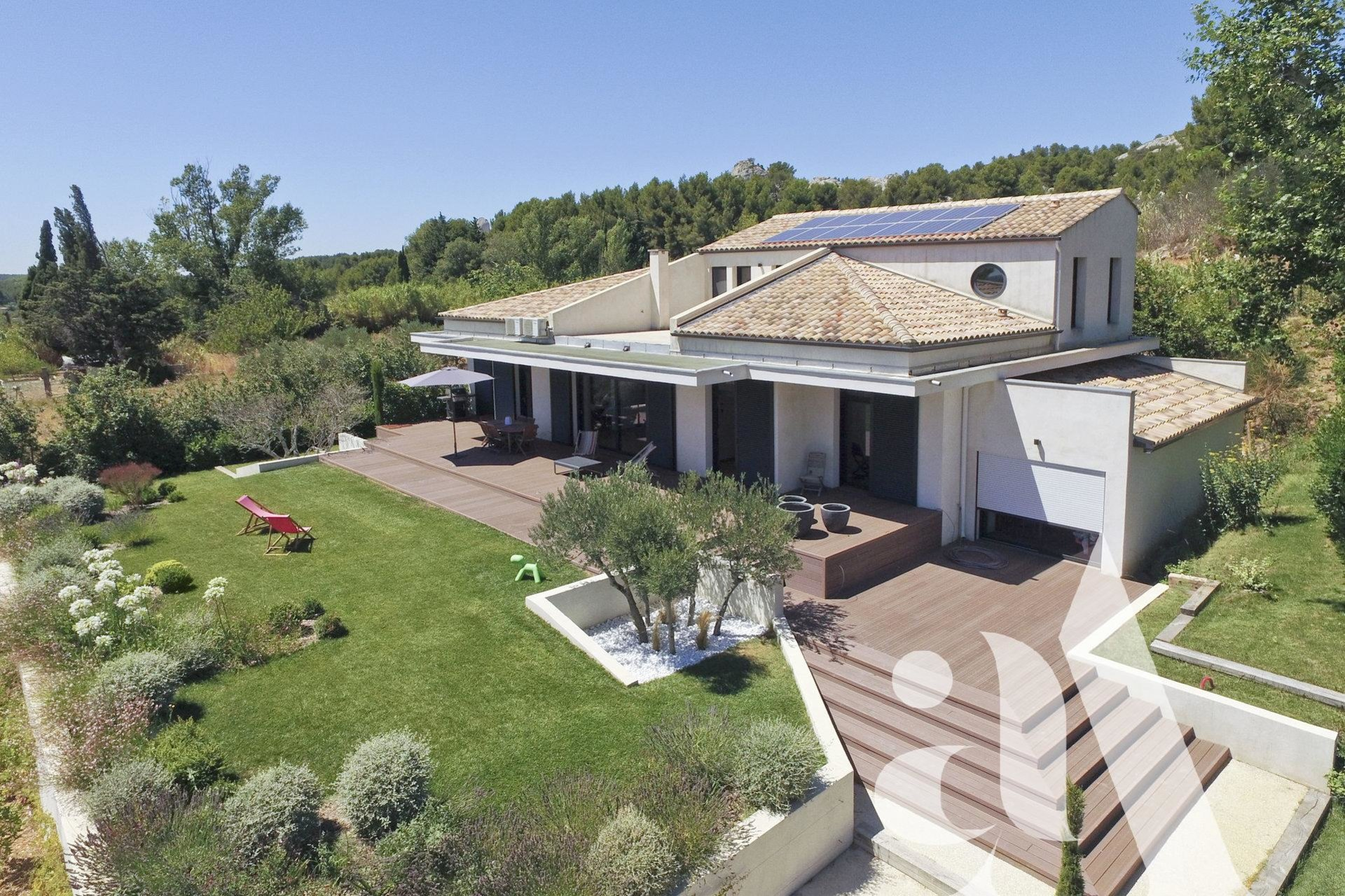 THE LITTLE MOUNTAIN VILLA-Maussane Les Alpilles- 5 Chambres - Alpilles