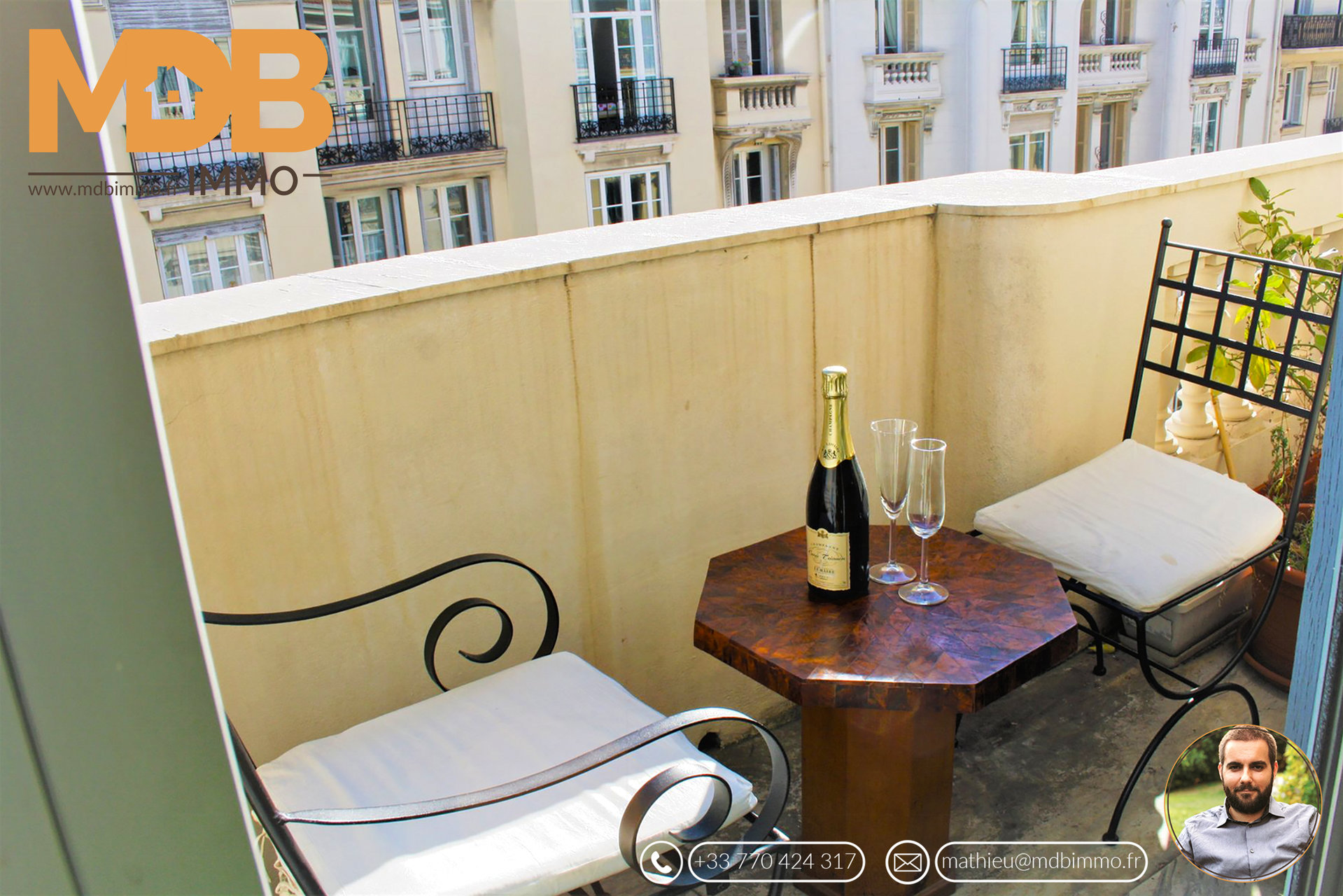 Charming apartment near Negresco and beaches