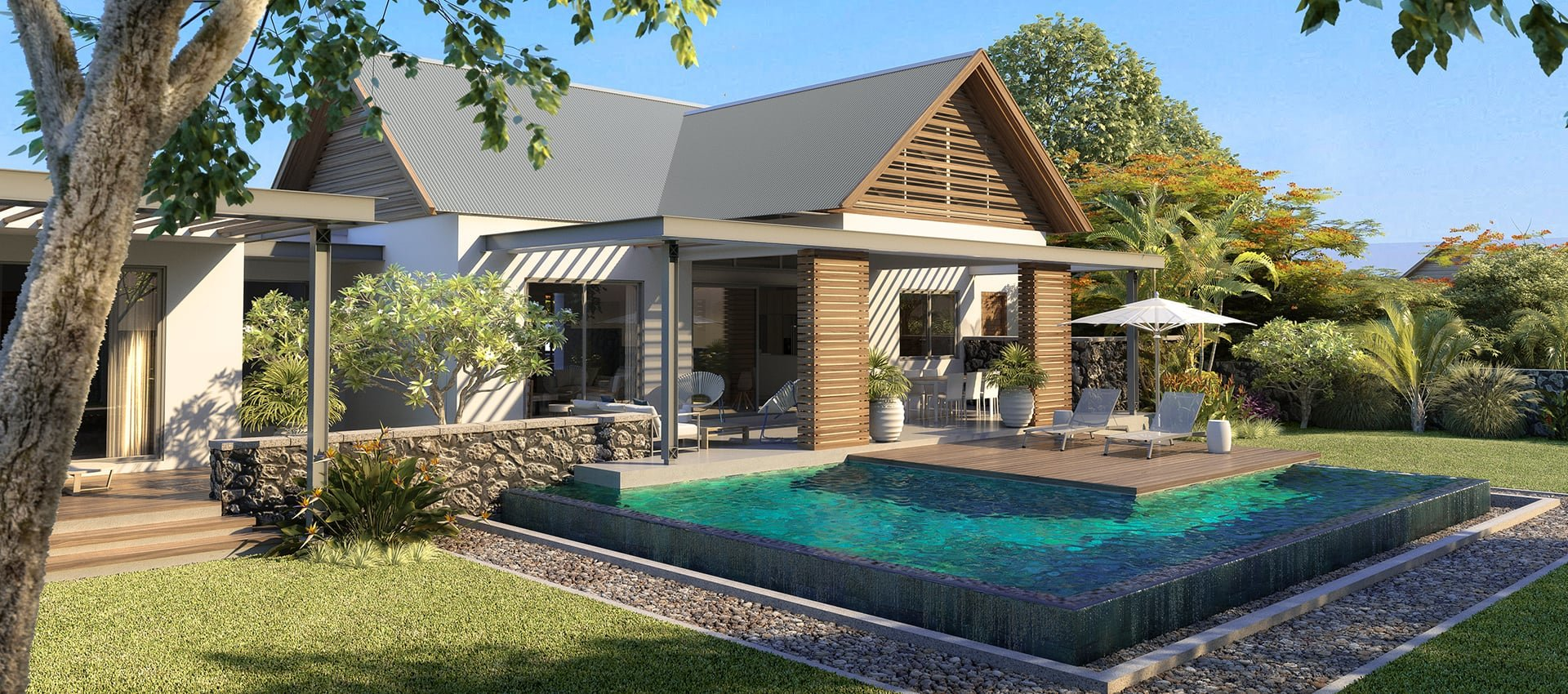 Sale Terraced house - Plaine Magnien - Mauritius
