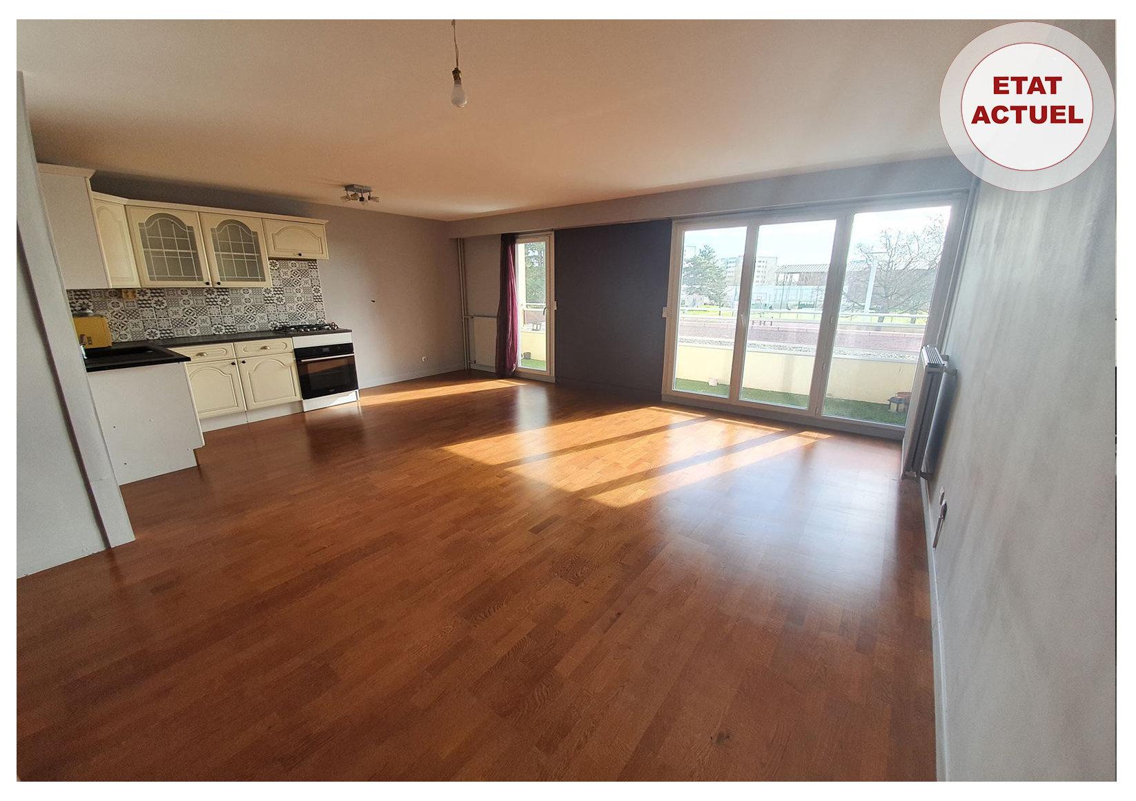 RILLIEUX-LA-PAPE - Bel appartement de 47 m2 avec Balcon