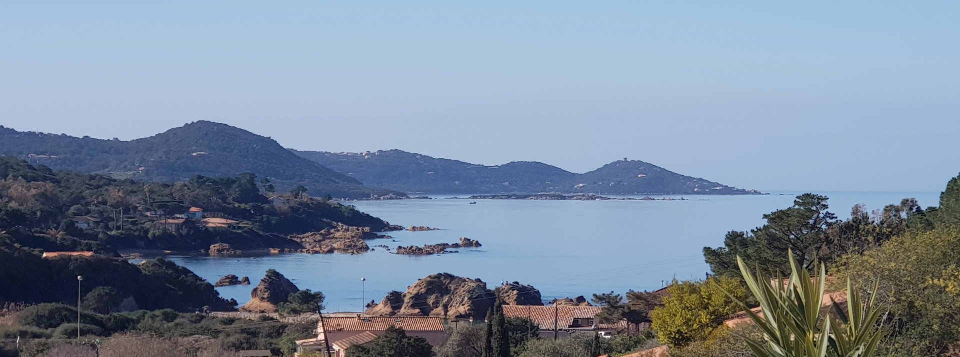 Villa 3 chambres, belle vue mer au Rupione-Plage à Pietrosella