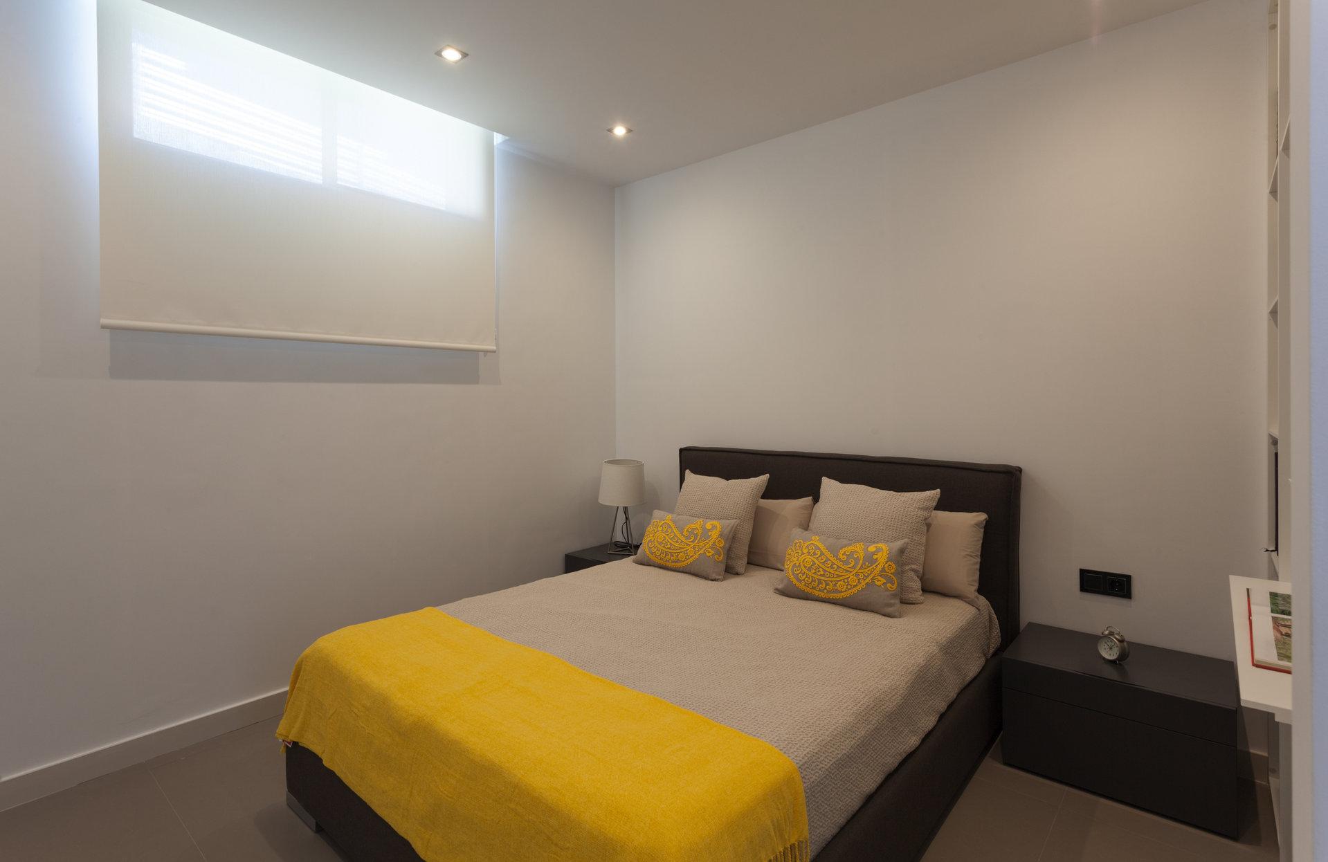 Moderne gelijkvloerse luxe villa met zeezicht