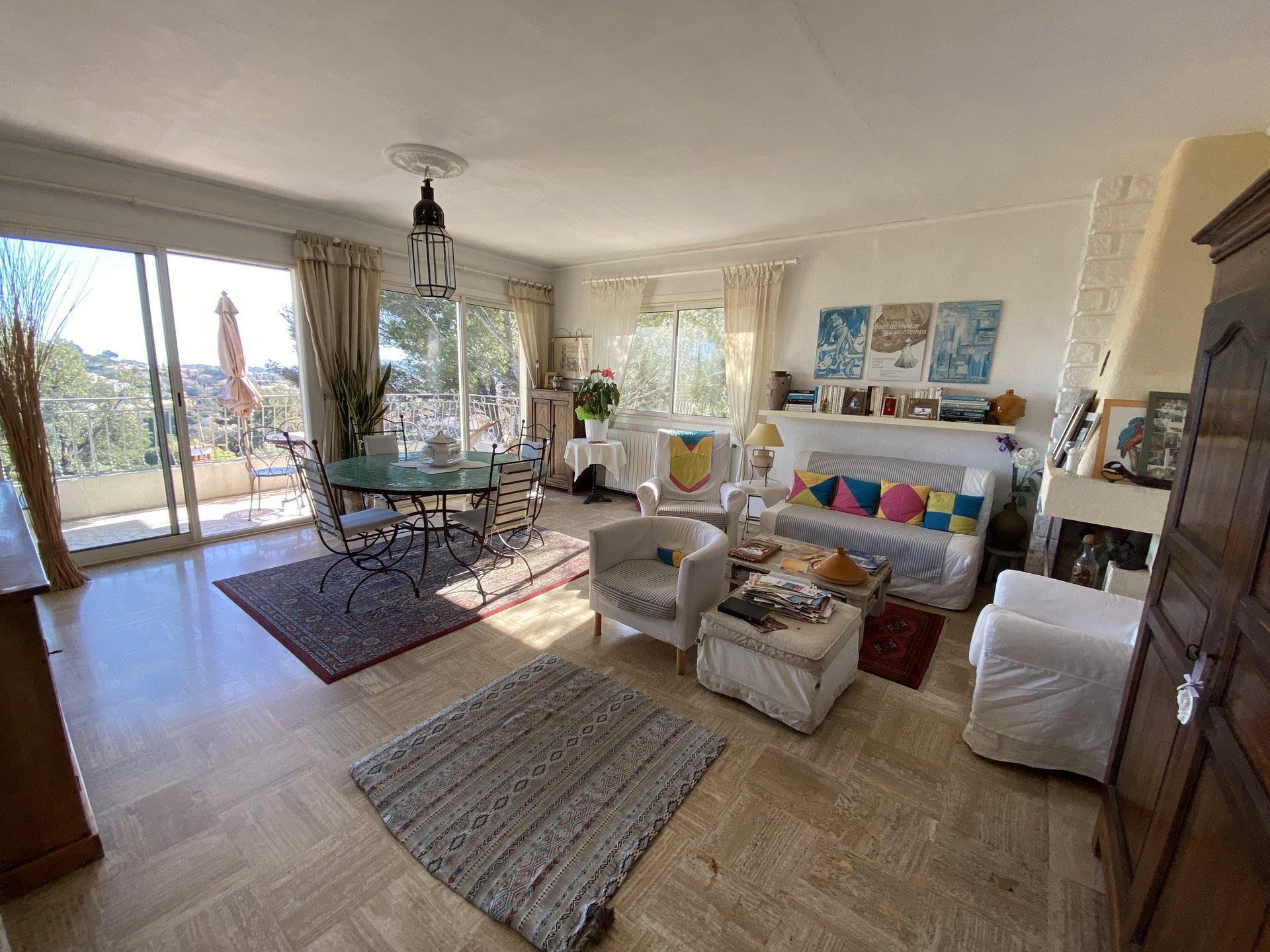 Villa  de 202m²  T8 avec Vue Mer