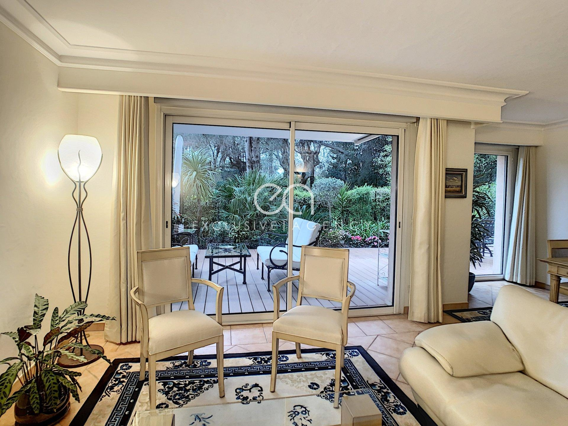 Cannes for sale 3-bedroom apartment 101sqm superb garden and terrace 120sqm