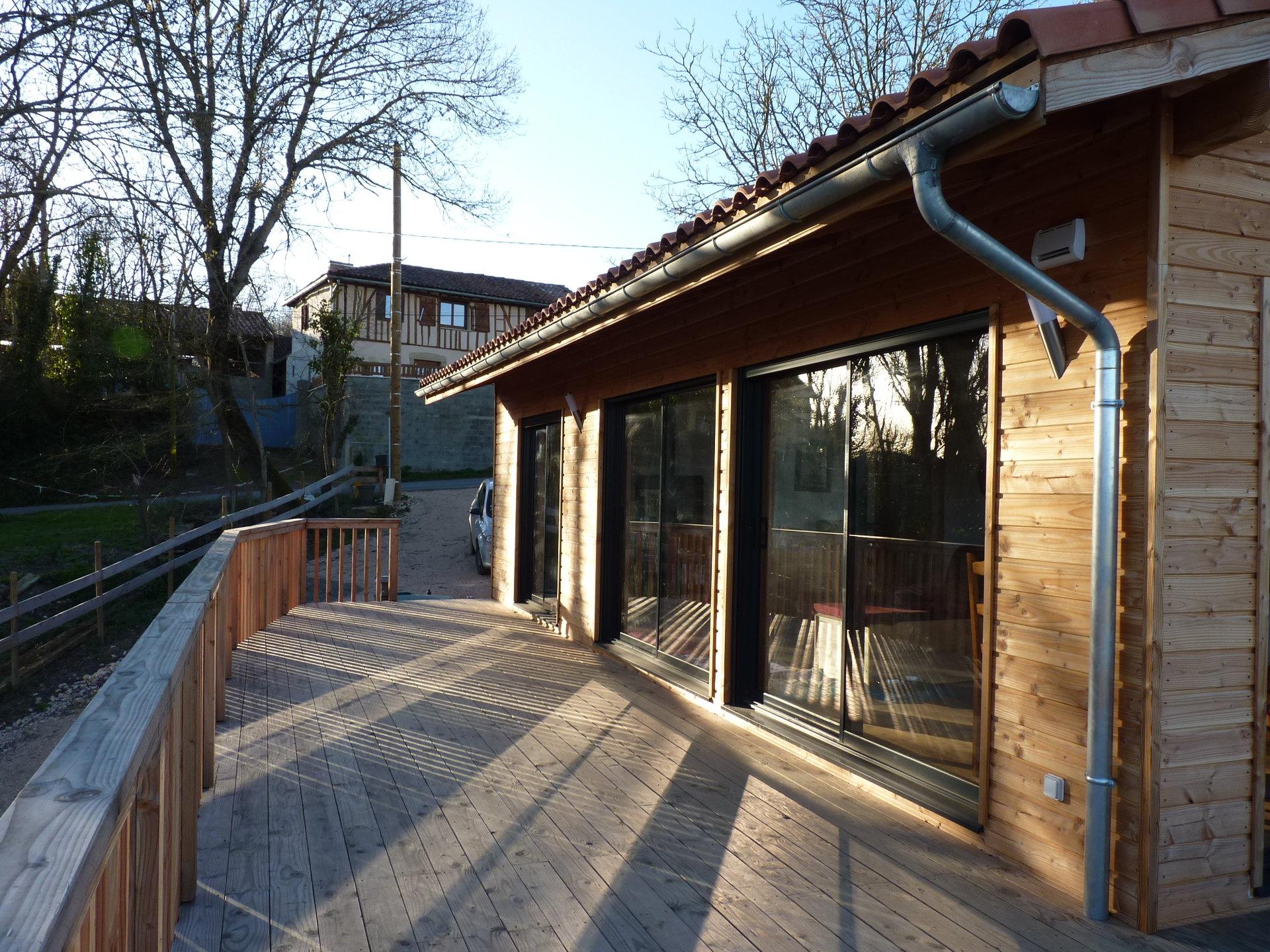 Seasonal rental Gîte - Lussan Adeilhac