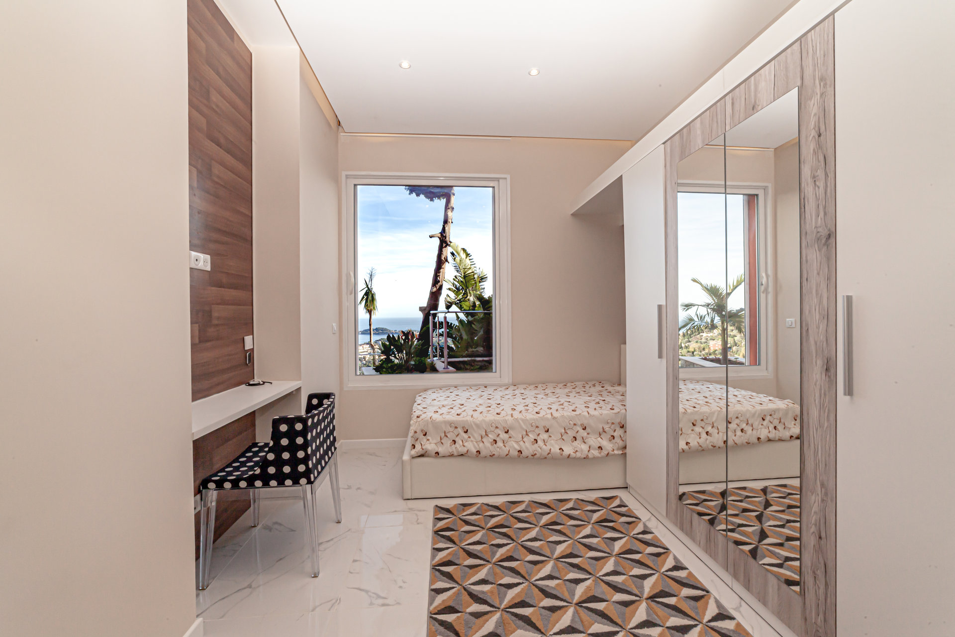 Villafranca, Villa contemporanea - Piscina, Vista mare panoramica