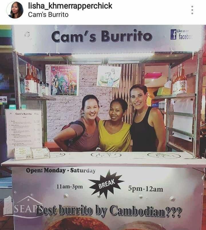 Cams Burrito