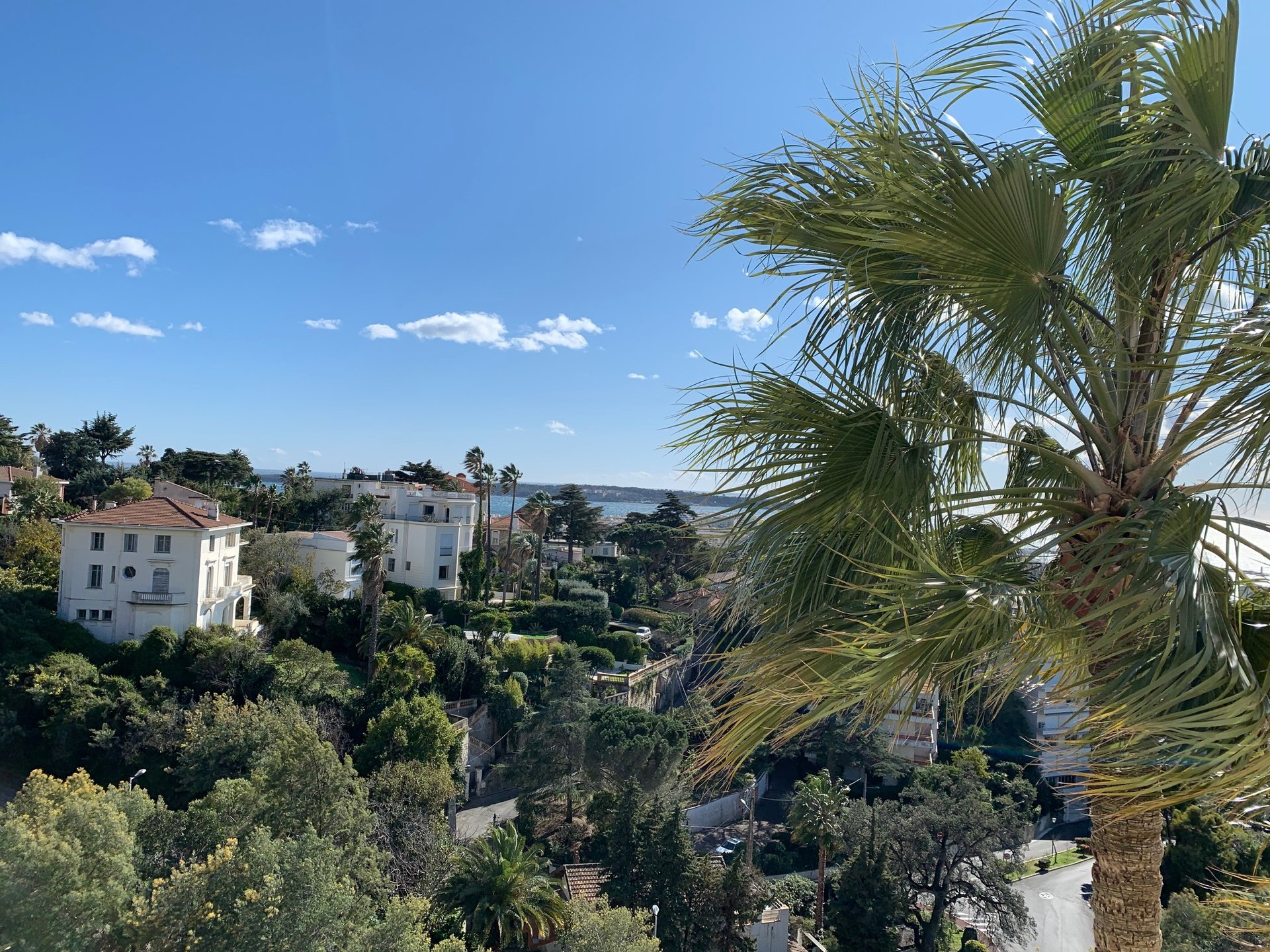 Cannes Californie with sea view