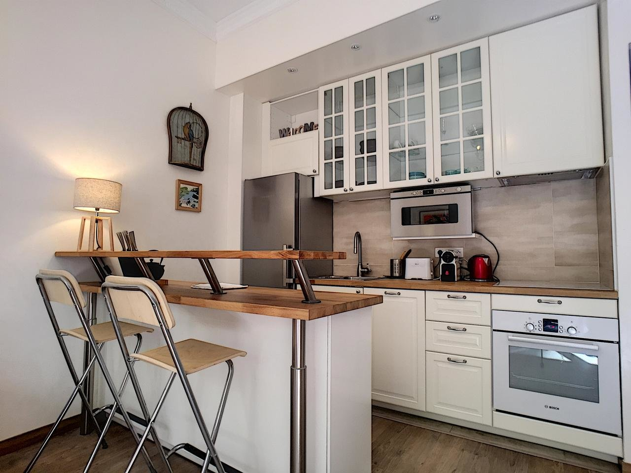 1-bed with private garden - Nice Fleurs