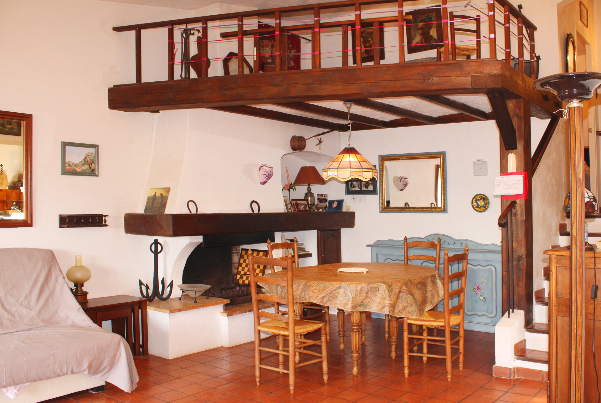 Cottage of 56 m² close to the sea with enchanting view