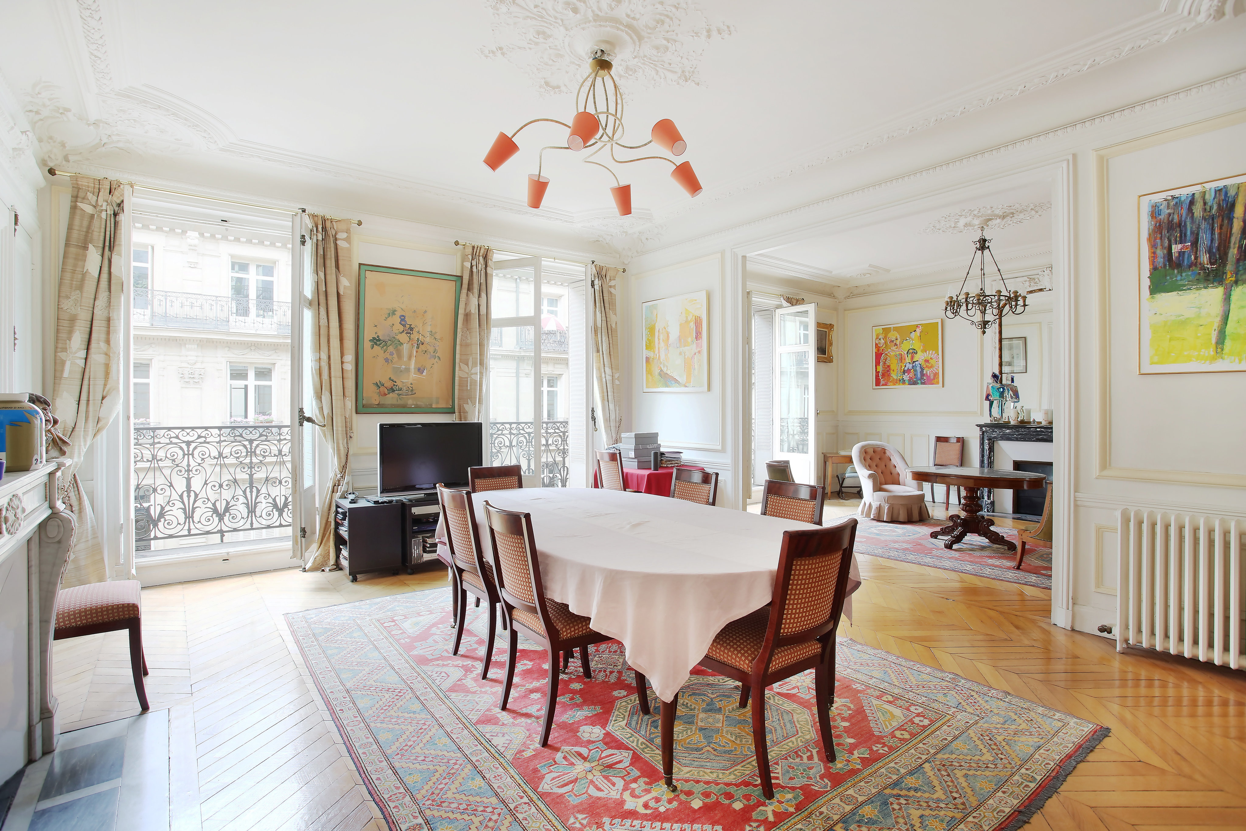公寓 为 销售 在 Paris 17th District – An elegant 5-room apartment 巴黎, 巴黎,75017 法国