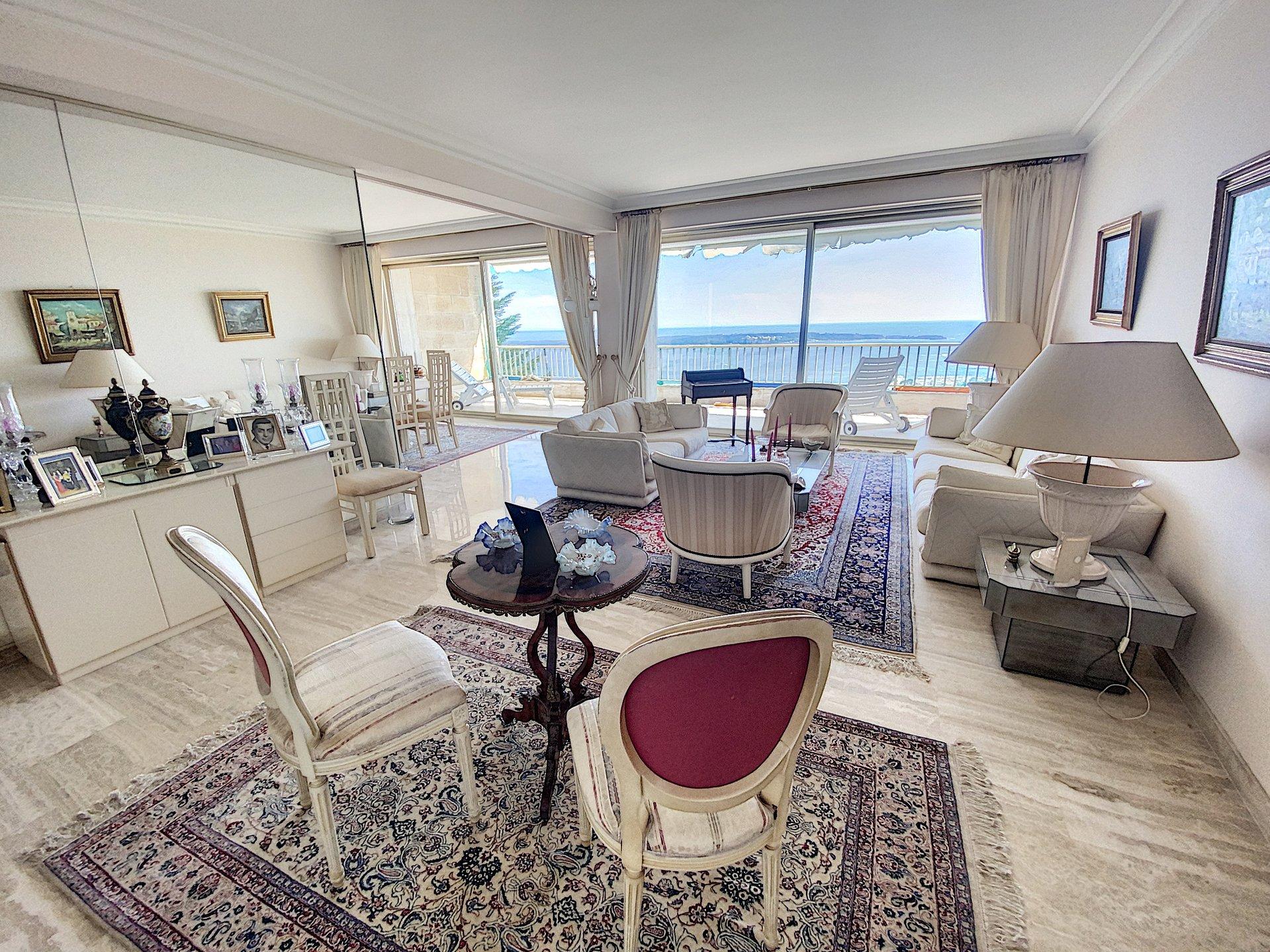 Cannes Californie 3 p 112 m2 panoramic view