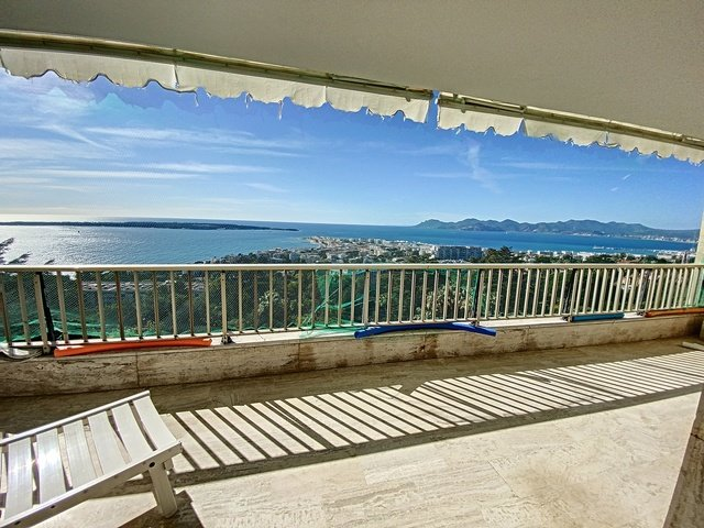 Cannes Californie 3 p 112 m2 panoramic view