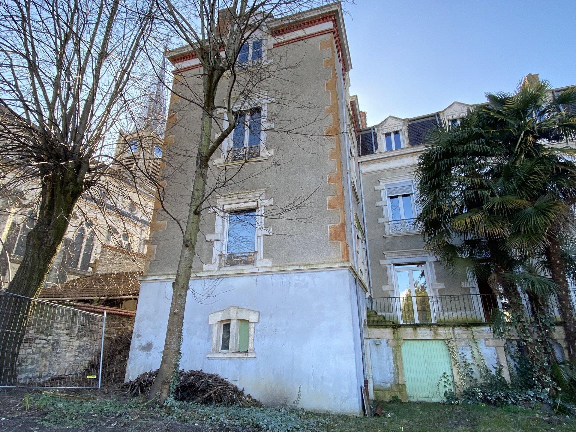 Maison de village 72 m² hab + jardin