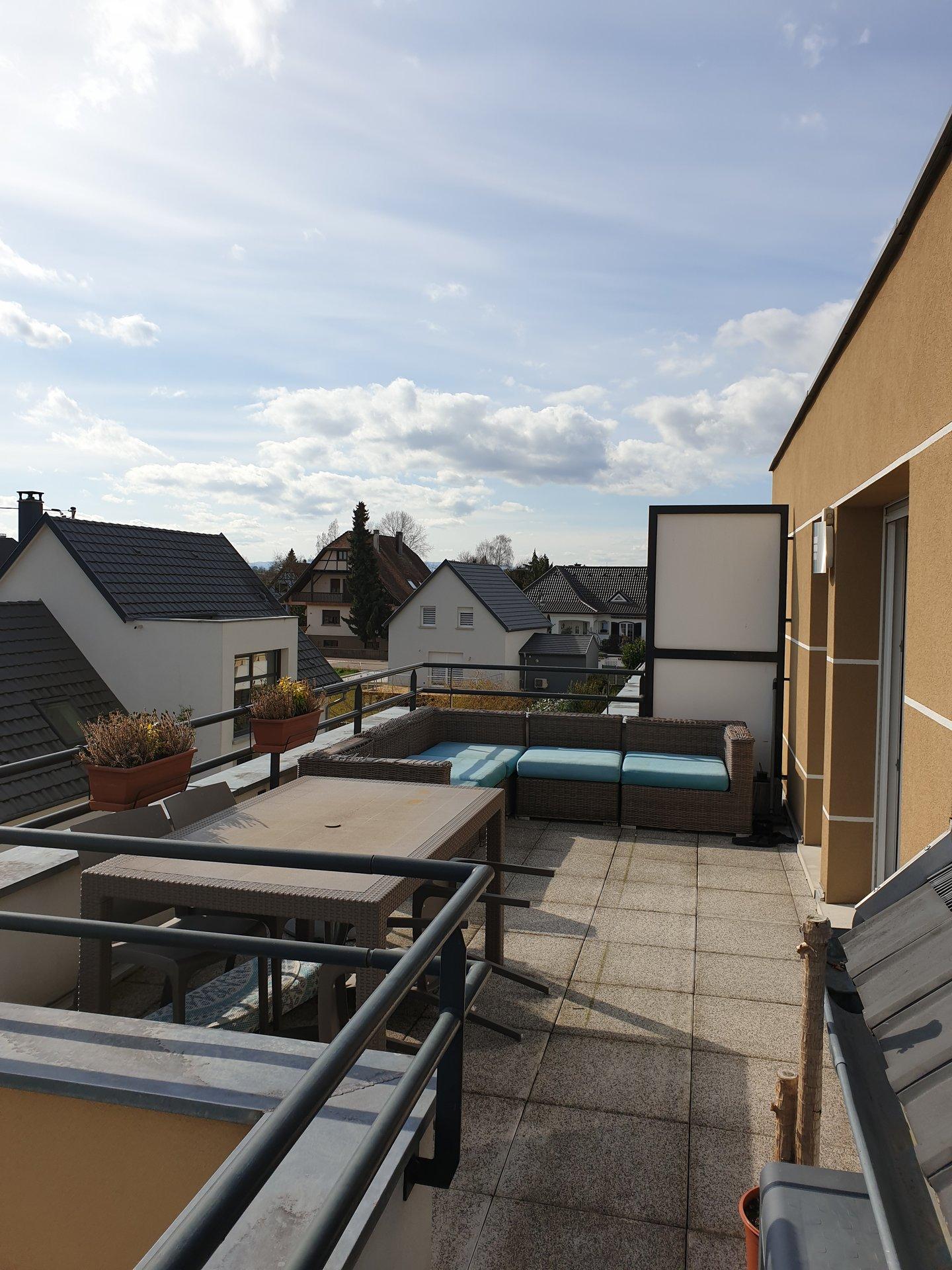 Ittenheim - Superbe 3 pièces en attique !!!