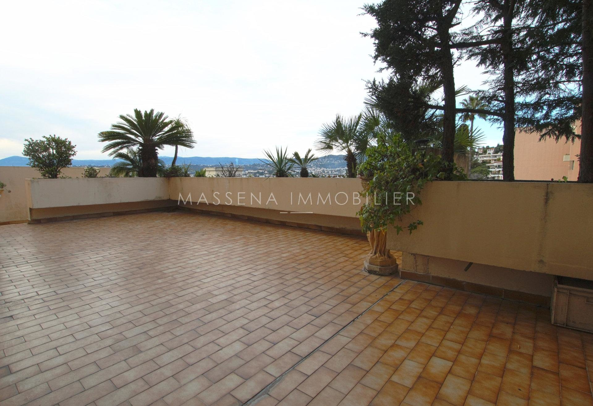 Nice Mont Boron - 4-bed apartment with garden and terrace panoramic view