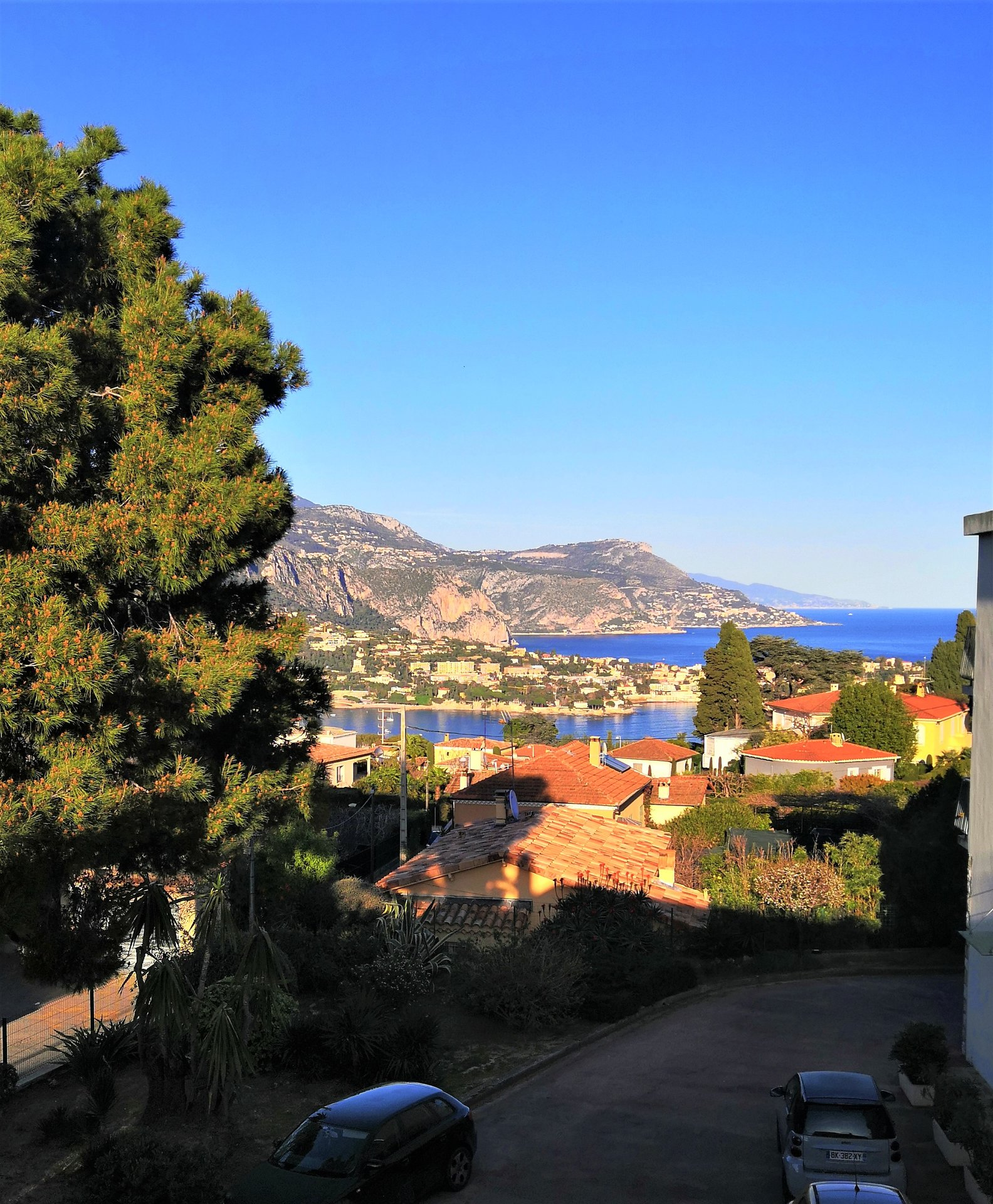 NICE MONT BORON :  2 BED APART. TERRACE, SEAVIEW