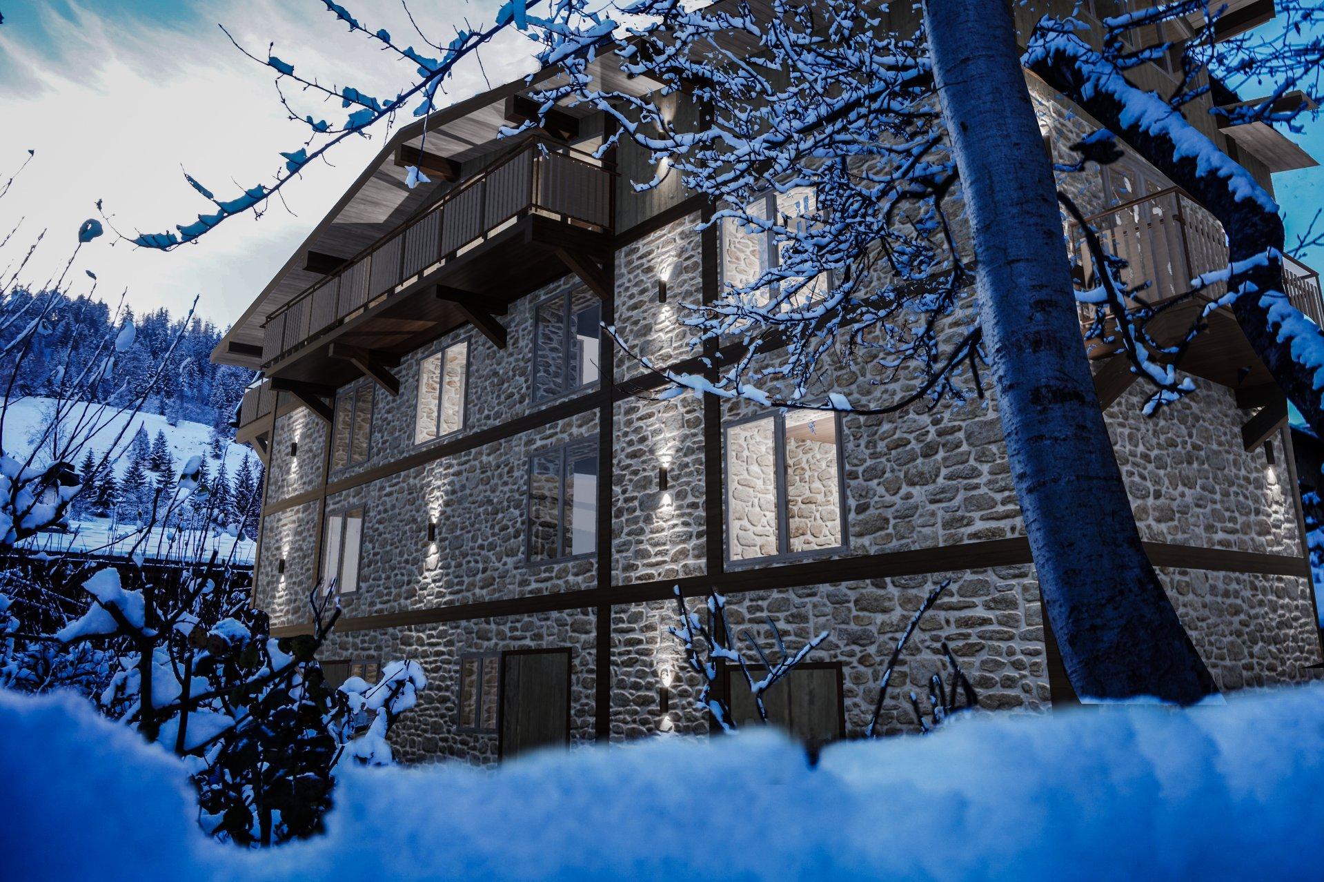 pleasant village house