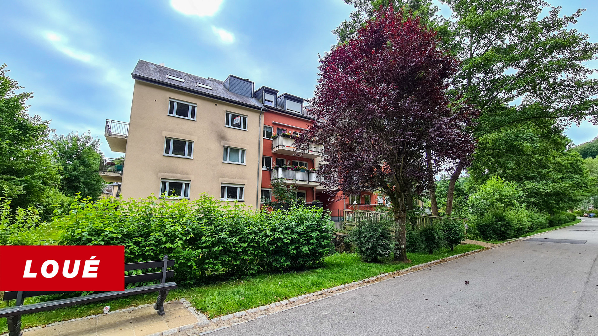 RENTED - appartment with 3 bedrooms in Larochette