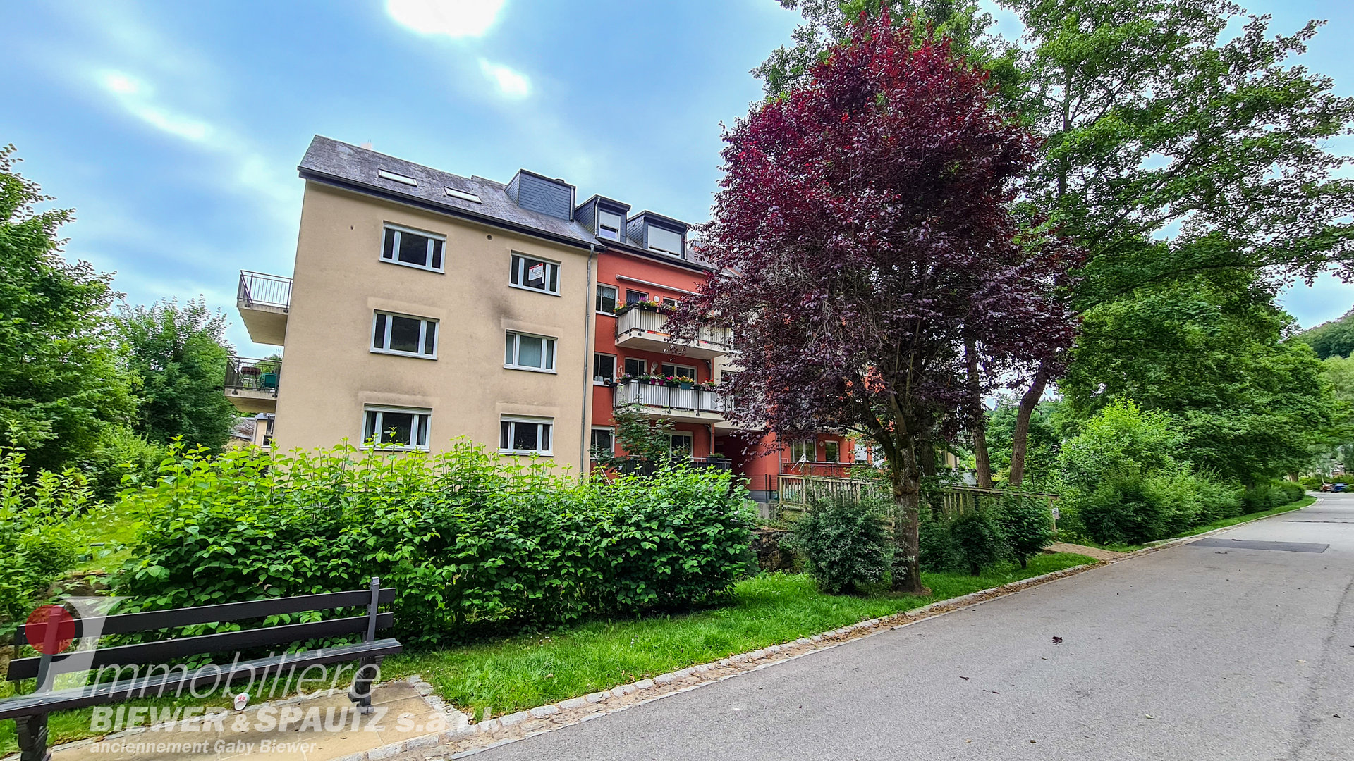 FOR RENT - appartment with 3 bedrooms in Larochette