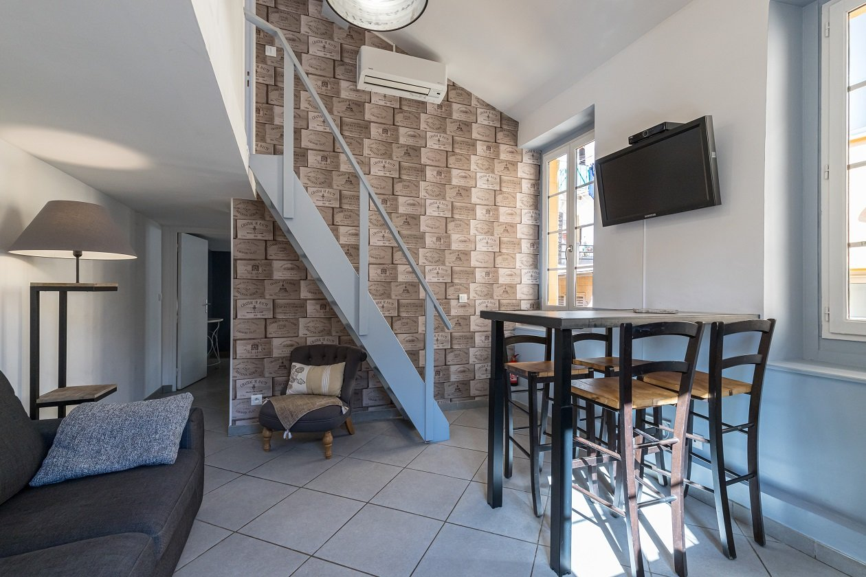 Appartement 3 pièces en duplex - Vieux Nice